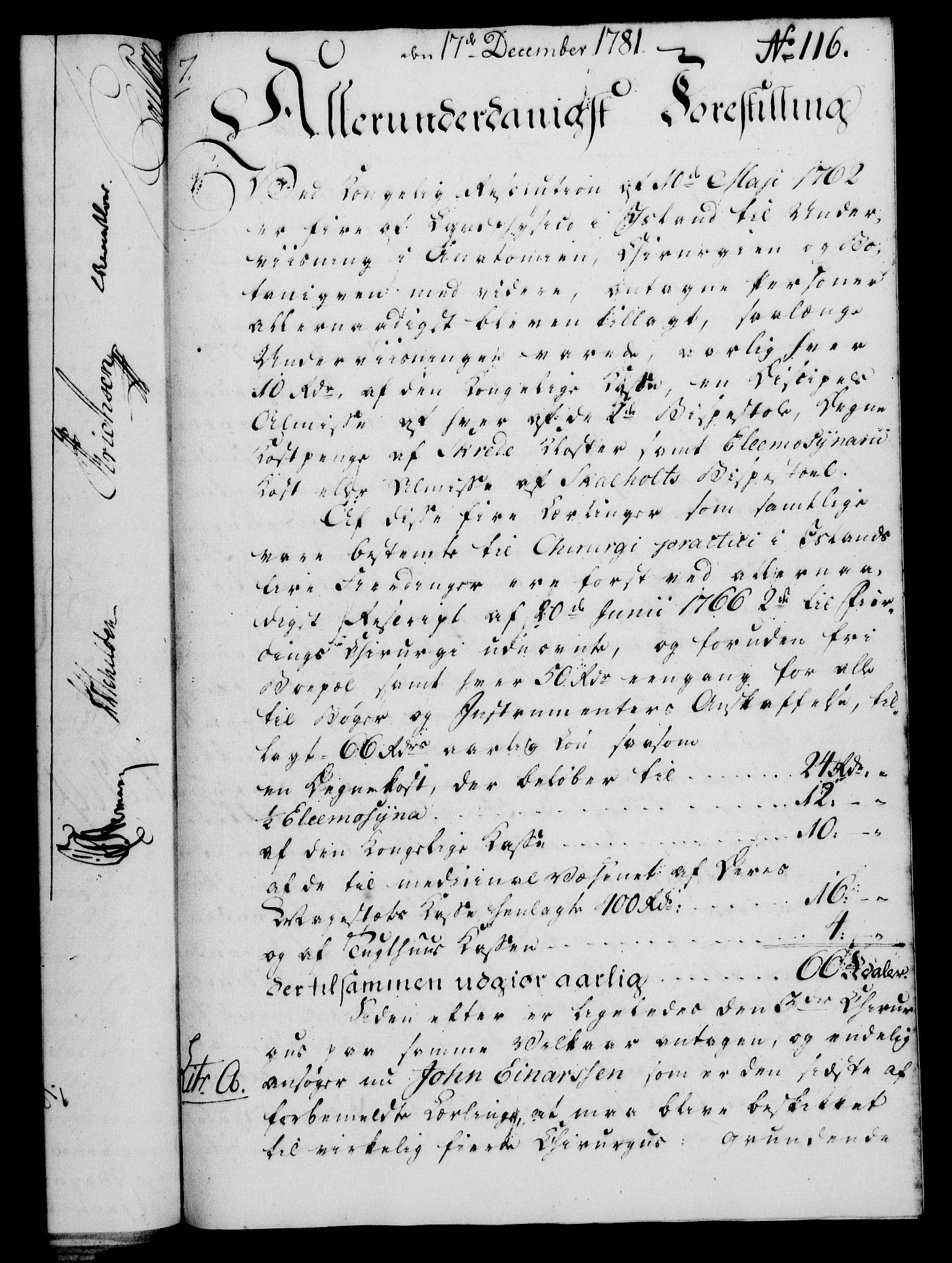 RA, Rentekammeret, Kammerkanselliet, G/Gf/Gfa/L0063: Norsk relasjons- og resolusjonsprotokoll (merket RK 52.63), 1781, s. 1186