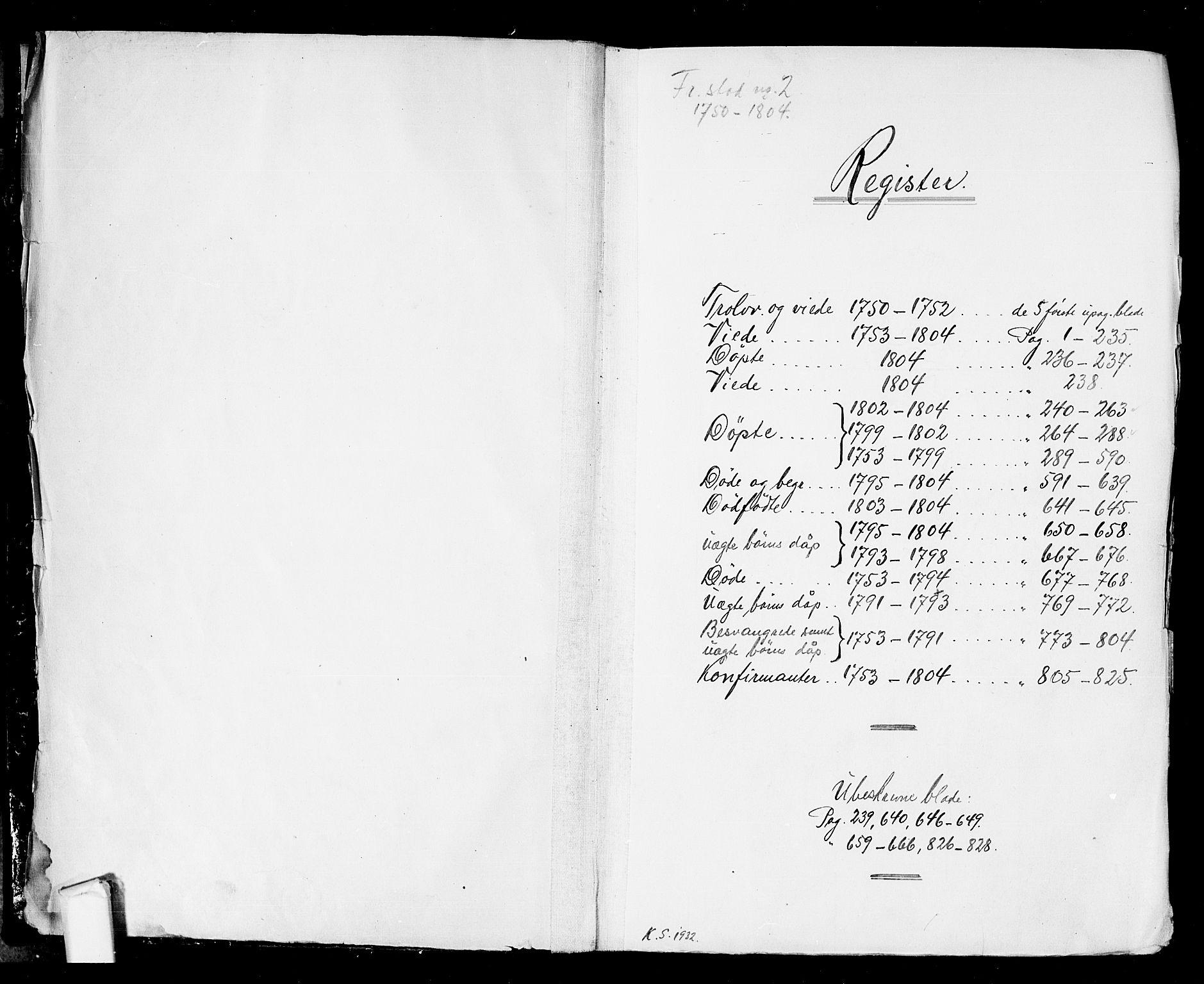 SAO, Fredrikstad prestekontor Kirkebøker, F/Fa/L0002: Ministerialbok nr. 2, 1750-1804