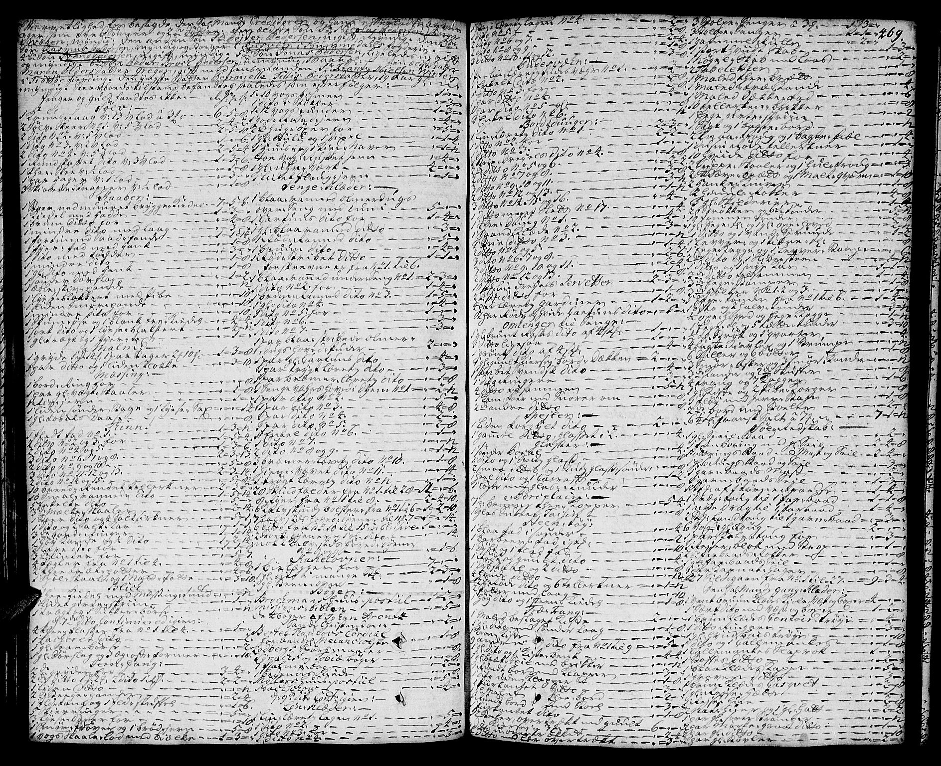 SAT, Helgeland sorenskriveri, 3/3A/L0013: Skifteprotokoll 8B, 1740-1743, s. 468b-469a