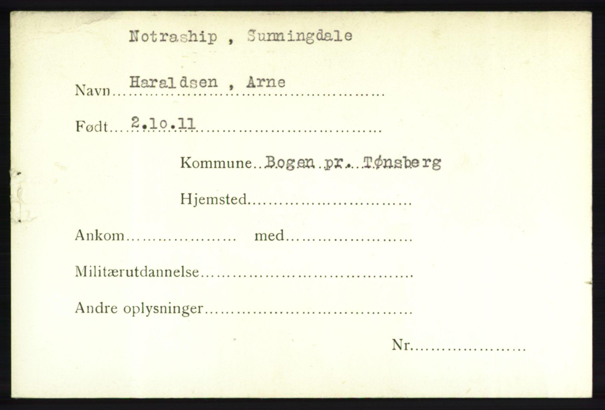 NHM, Forsvarets Overkommando. 2. kontor. Arkiv 8.1. Mottakersentralen FDE og FO.II, P/Pa/L0008: Kortsamling, 1940-1945, s. 1