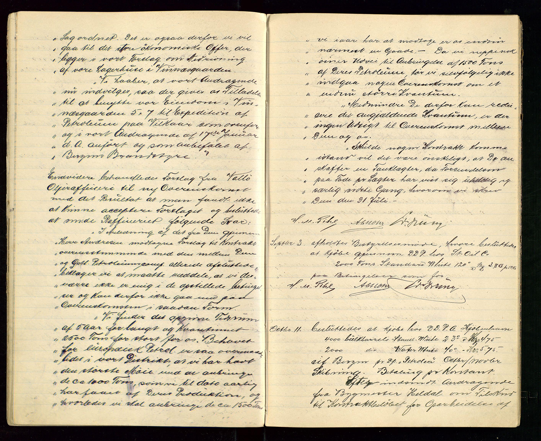 SAST, PA 1533 - A/S Vestlandske Petroleumscompani, A/Aa/L0001: Generalforsamlinger og styreprotokoller, 1907-1915, s. 24