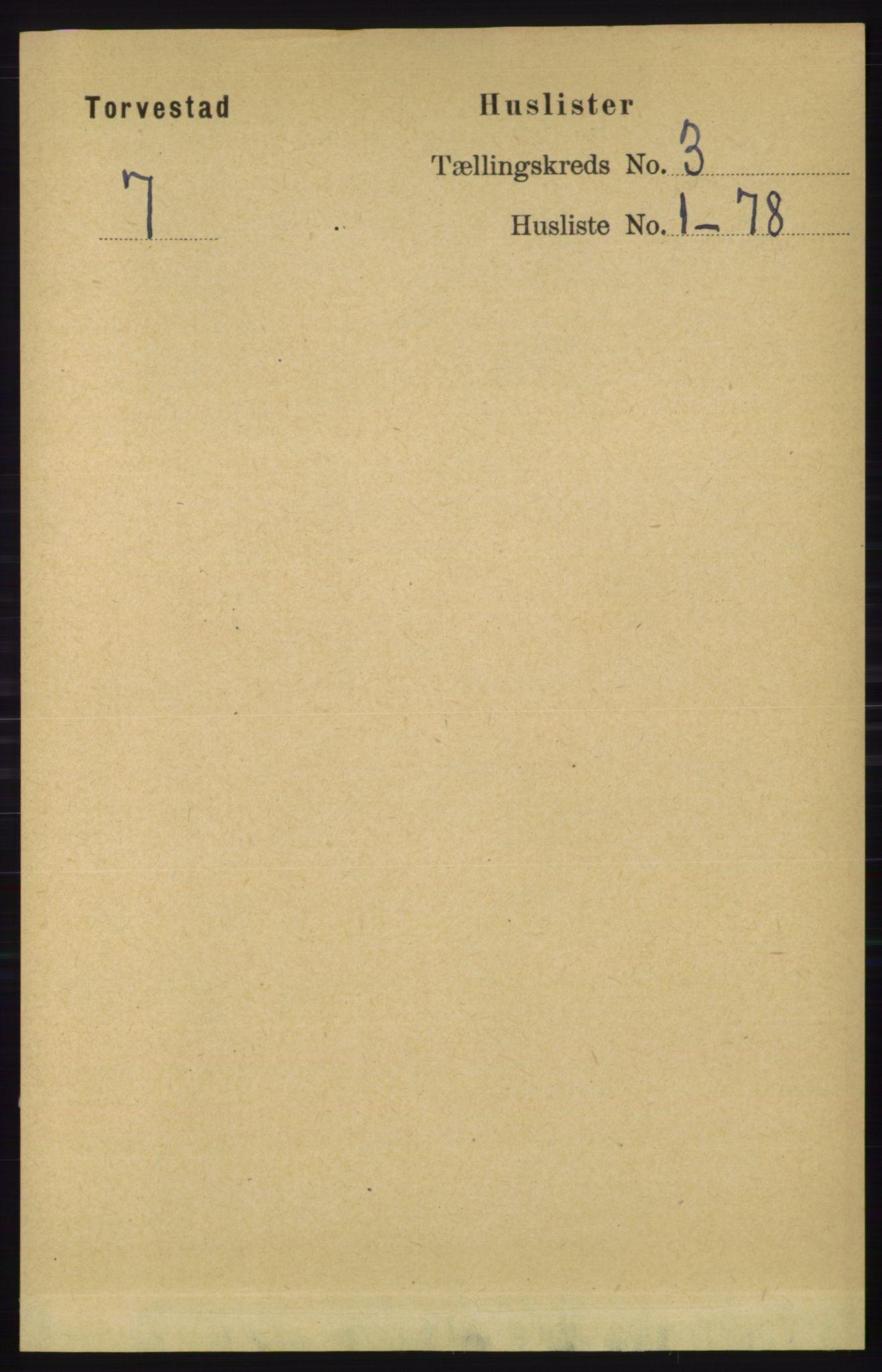 RA, Folketelling 1891 for 1152 Torvastad herred, 1891, s. 870