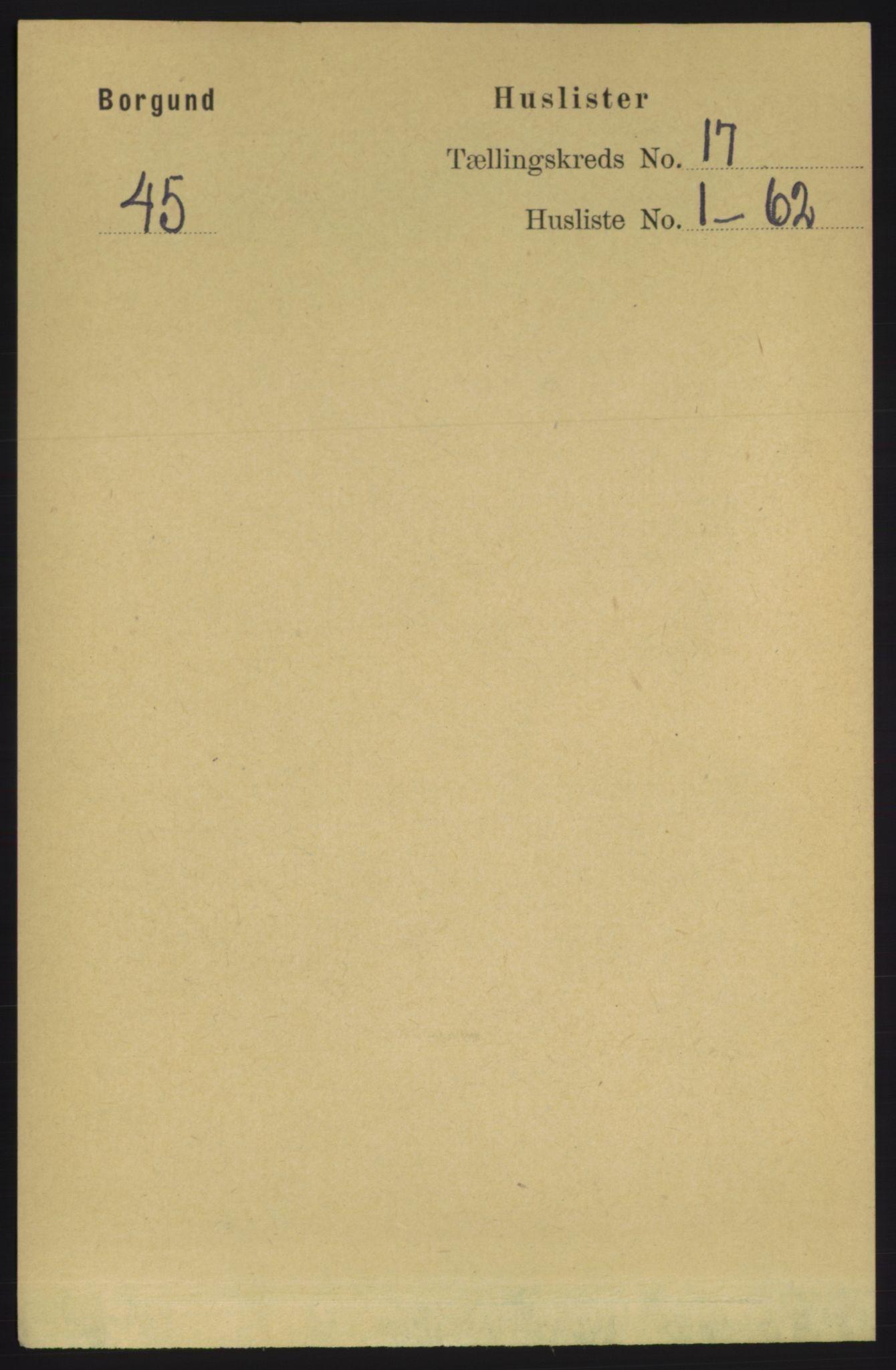 RA, Folketelling 1891 for 1531 Borgund herred, 1891, s. 4909