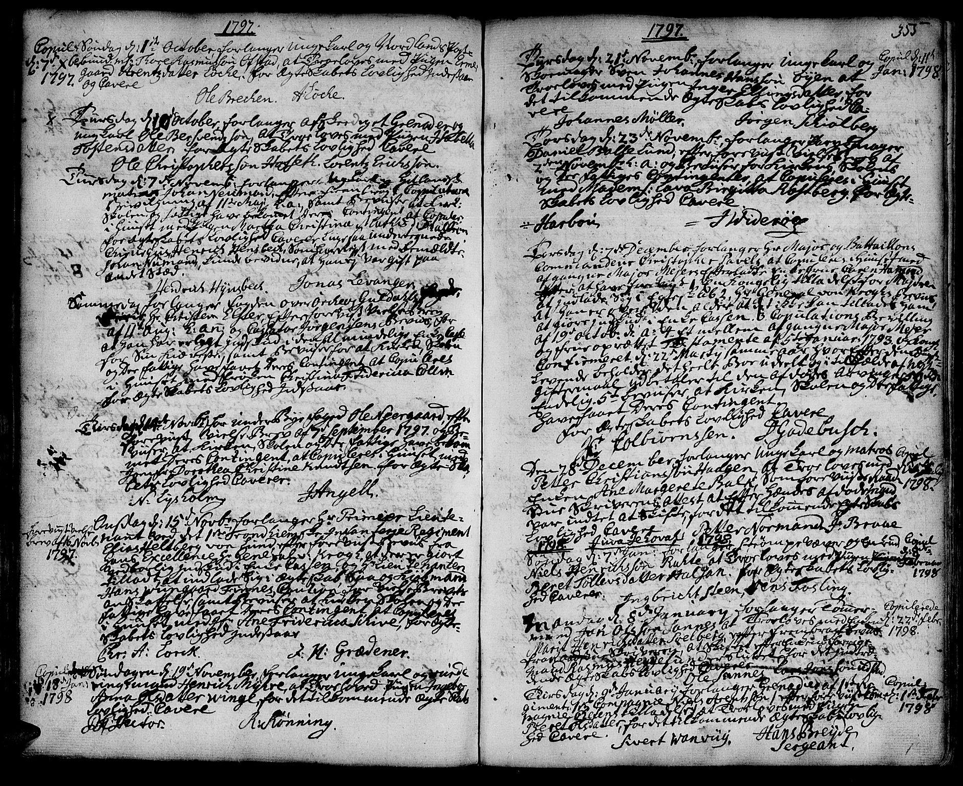 SAT, Ministerialprotokoller, klokkerbøker og fødselsregistre - Sør-Trøndelag, 601/L0038: Ministerialbok nr. 601A06, 1766-1877, s. 356b