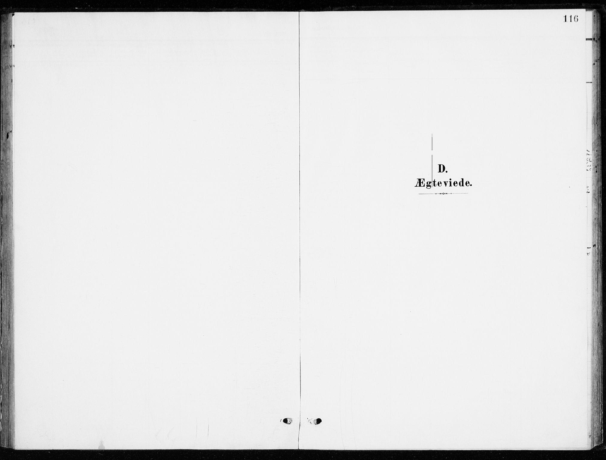 SAH, Ringsaker prestekontor, K/Ka/L0021: Ministerialbok nr. 21, 1905-1920, s. 116