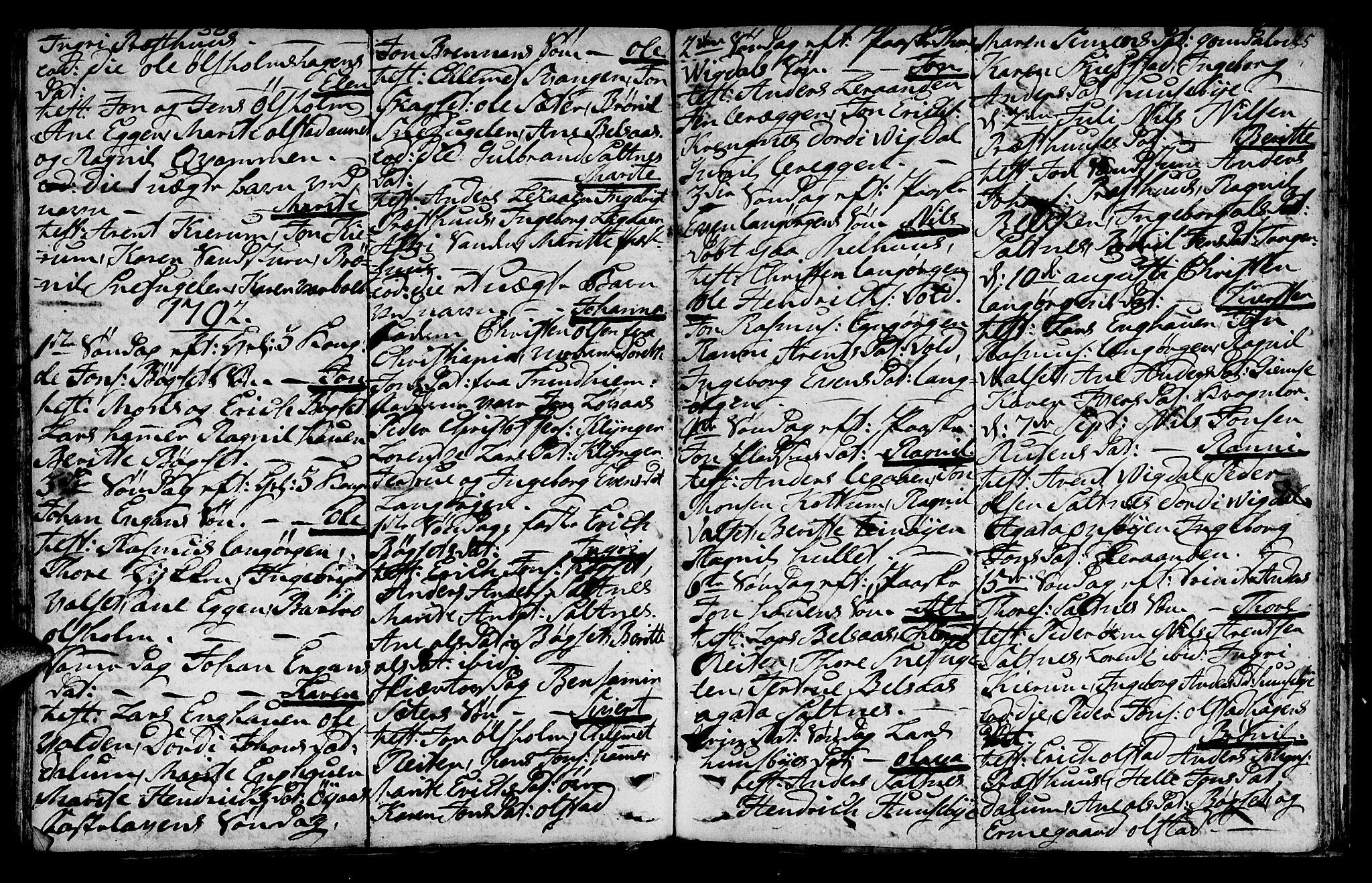 SAT, Ministerialprotokoller, klokkerbøker og fødselsregistre - Sør-Trøndelag, 666/L0784: Ministerialbok nr. 666A02, 1754-1802, s. 85