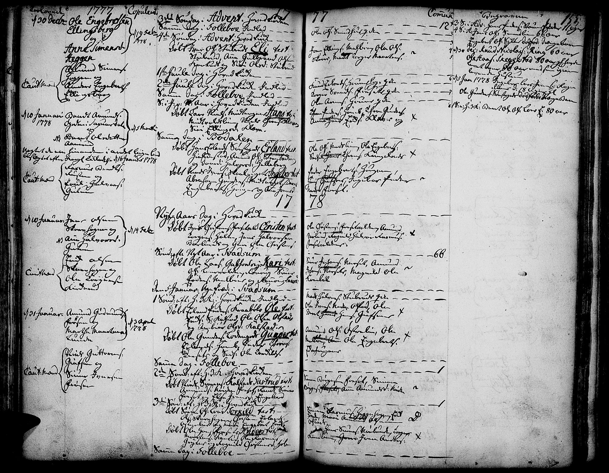 SAH, Gausdal prestekontor, Ministerialbok nr. 3, 1758-1809, s. 155