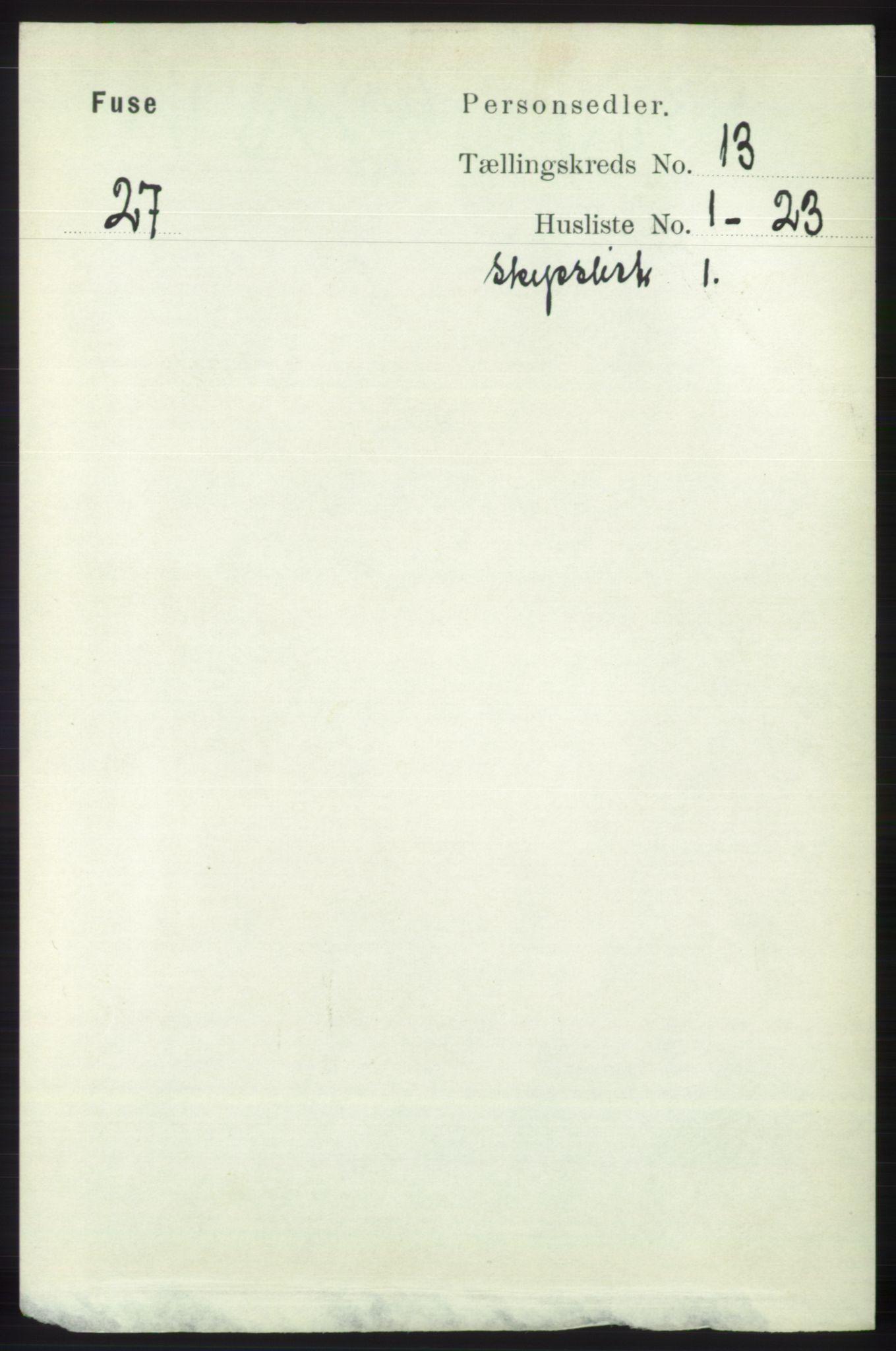 RA, Folketelling 1891 for 1241 Fusa herred, 1891, s. 2840