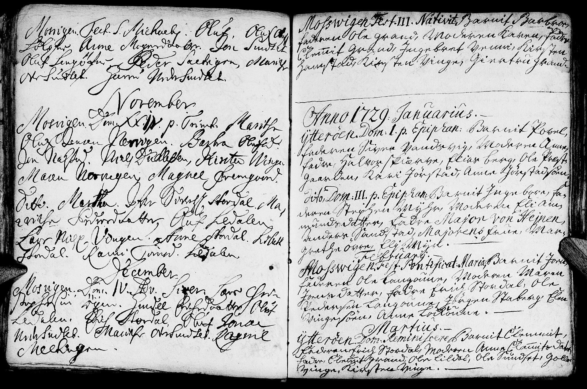 SAT, Ministerialprotokoller, klokkerbøker og fødselsregistre - Nord-Trøndelag, 722/L0215: Ministerialbok nr. 722A02, 1718-1755, s. 33