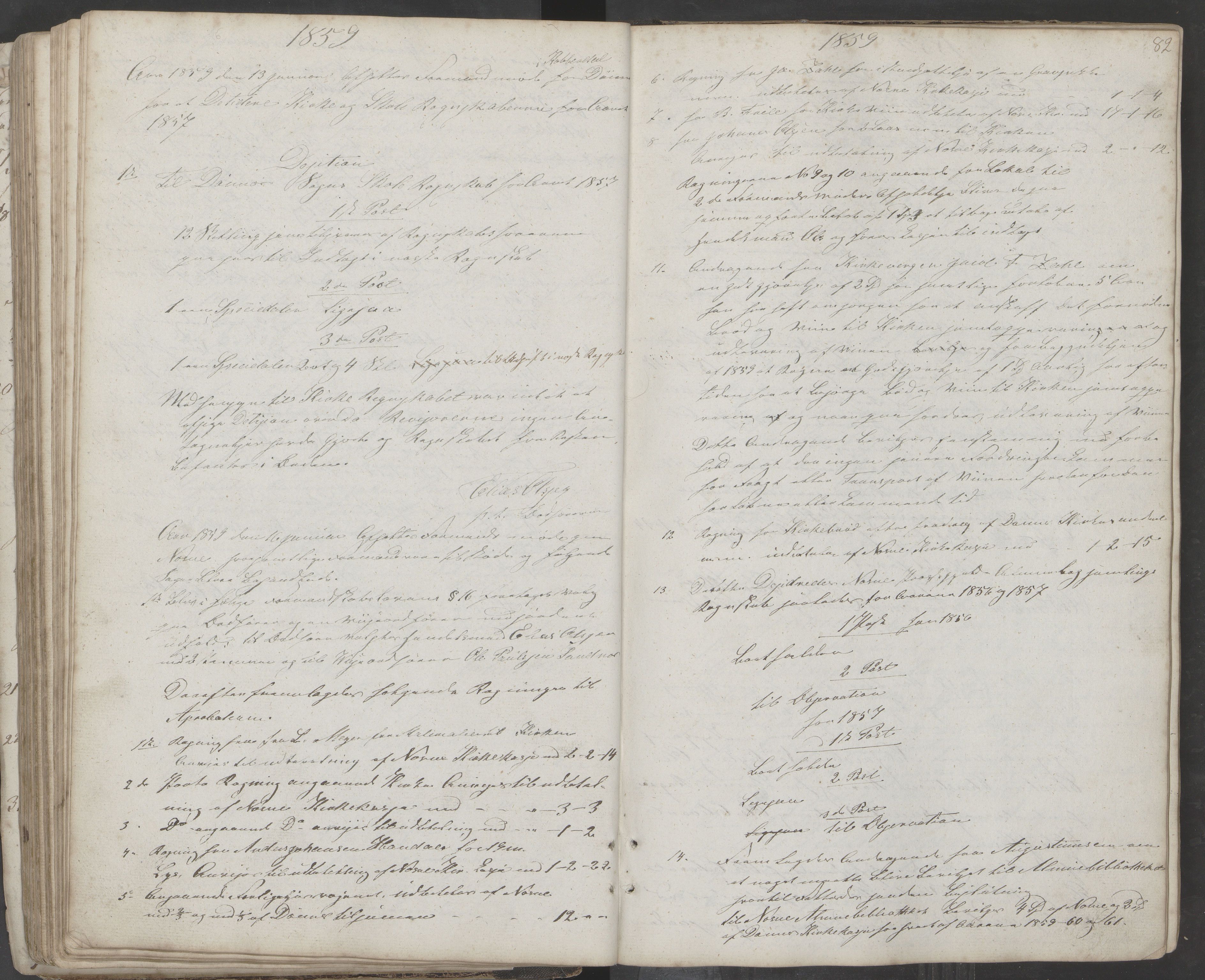 AIN, Nesna kommune. Formannskapet, 100/L0001: Møtebok, 1838-1873, s. 82