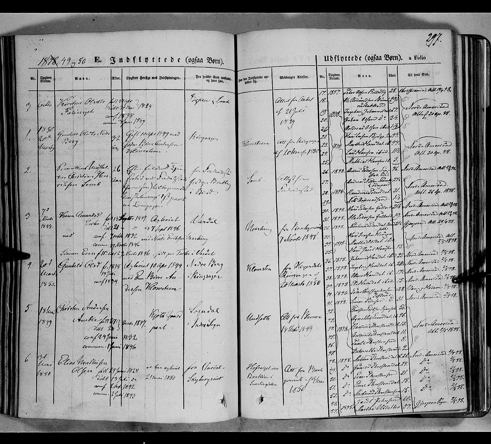 SAH, Biri prestekontor, Ministerialbok nr. 5, 1843-1854, s. 297