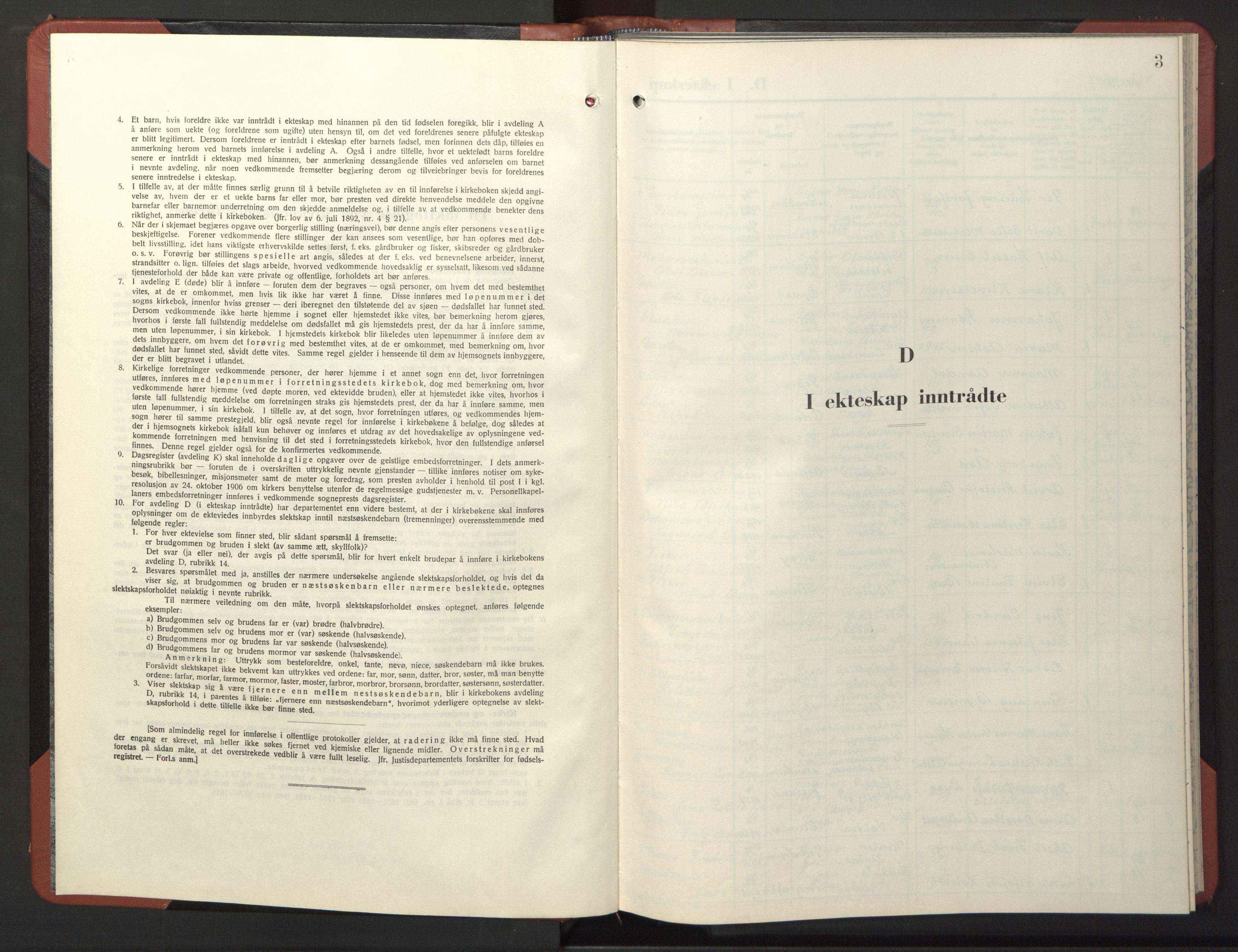 SAT, Ministerialprotokoller, klokkerbøker og fødselsregistre - Sør-Trøndelag, 611/L0359: Klokkerbok nr. 611C07, 1947-1950, s. 3