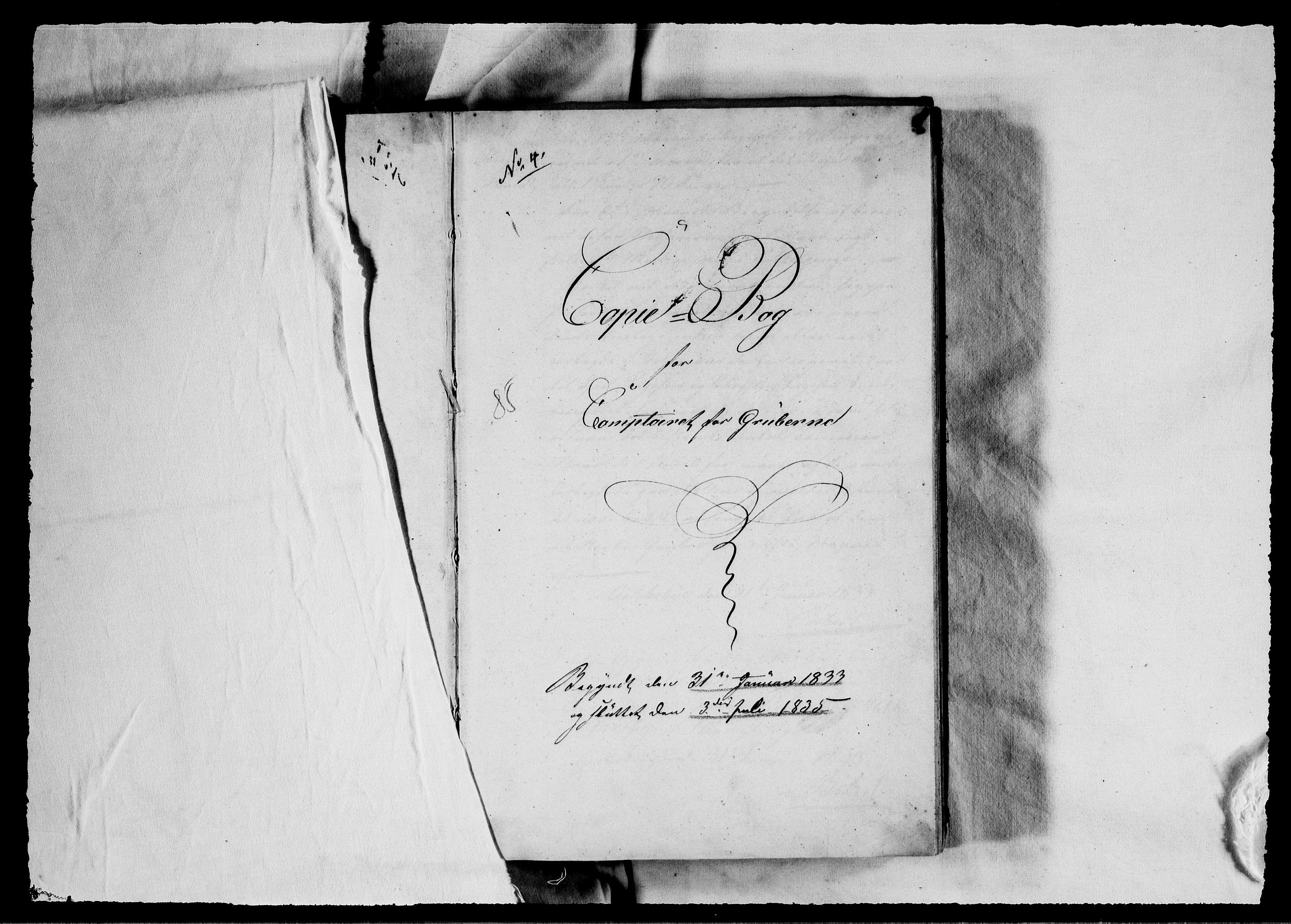 RA, Modums Blaafarveværk, G/Gb/L0085, 1833-1835, s. 2
