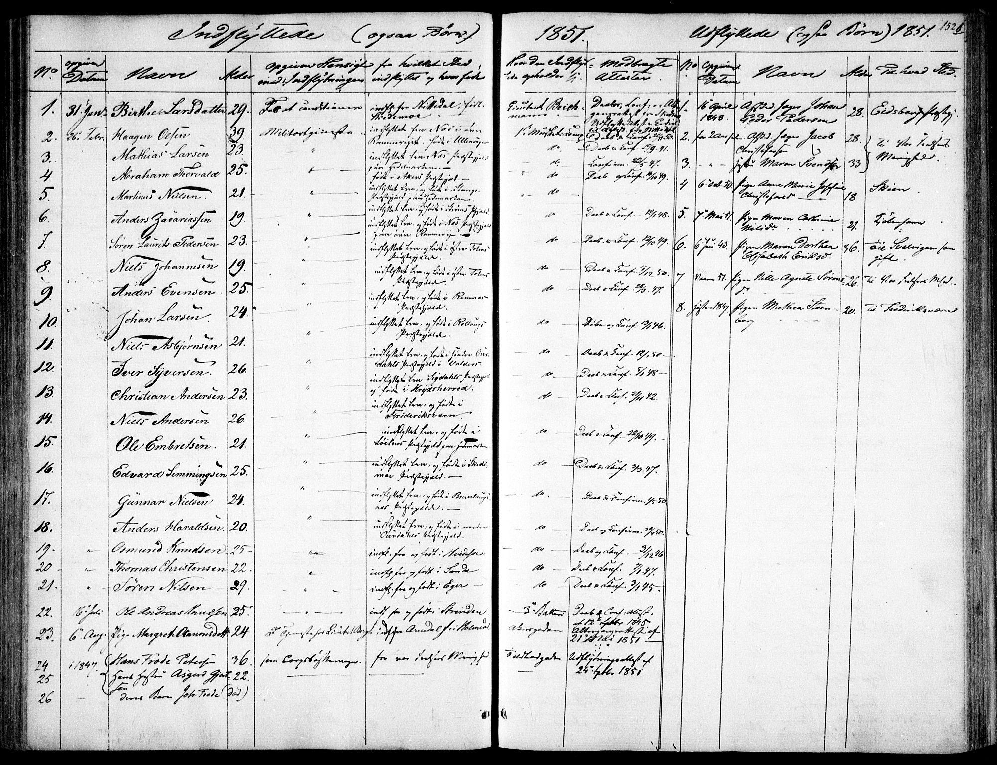 SAO, Garnisonsmenigheten Kirkebøker, F/Fa/L0009: Ministerialbok nr. 9, 1842-1859, s. 152b