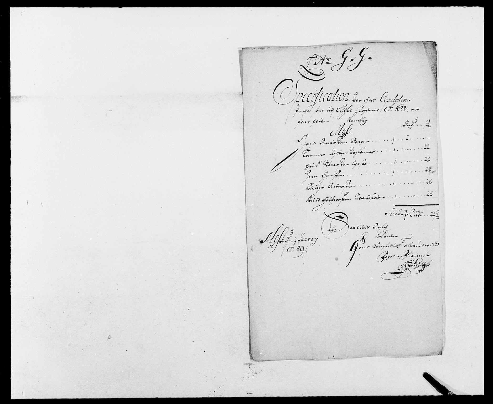 RA, Rentekammeret inntil 1814, Reviderte regnskaper, Fogderegnskap, R02/L0106: Fogderegnskap Moss og Verne kloster, 1688-1691, s. 138