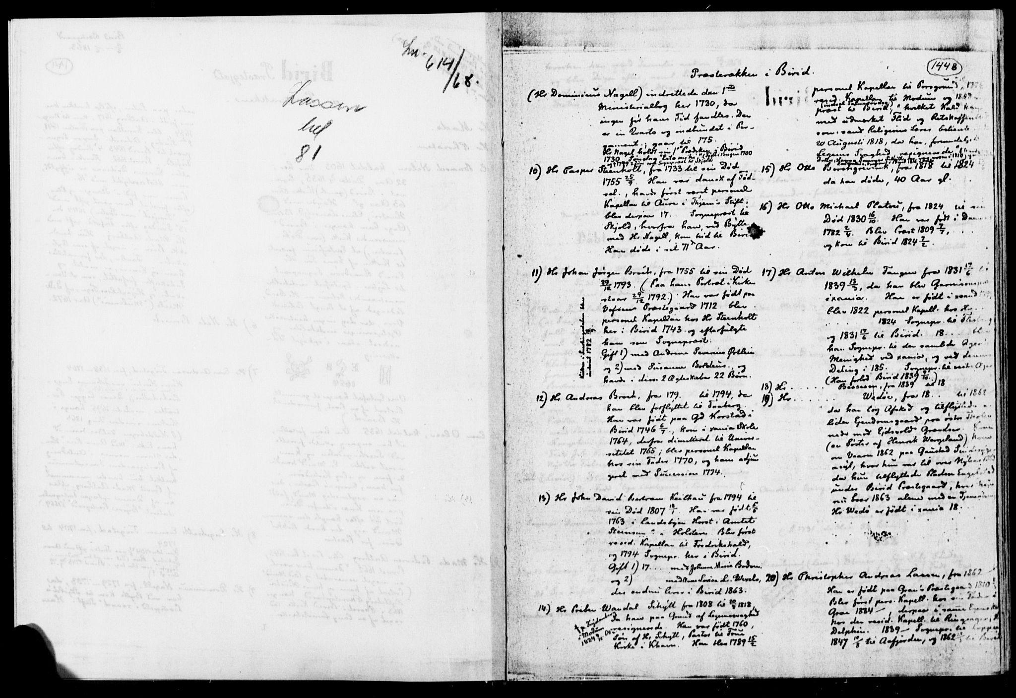 SAH, Biri prestekontor, Ministerialbok, 1730-1879, s. 144b