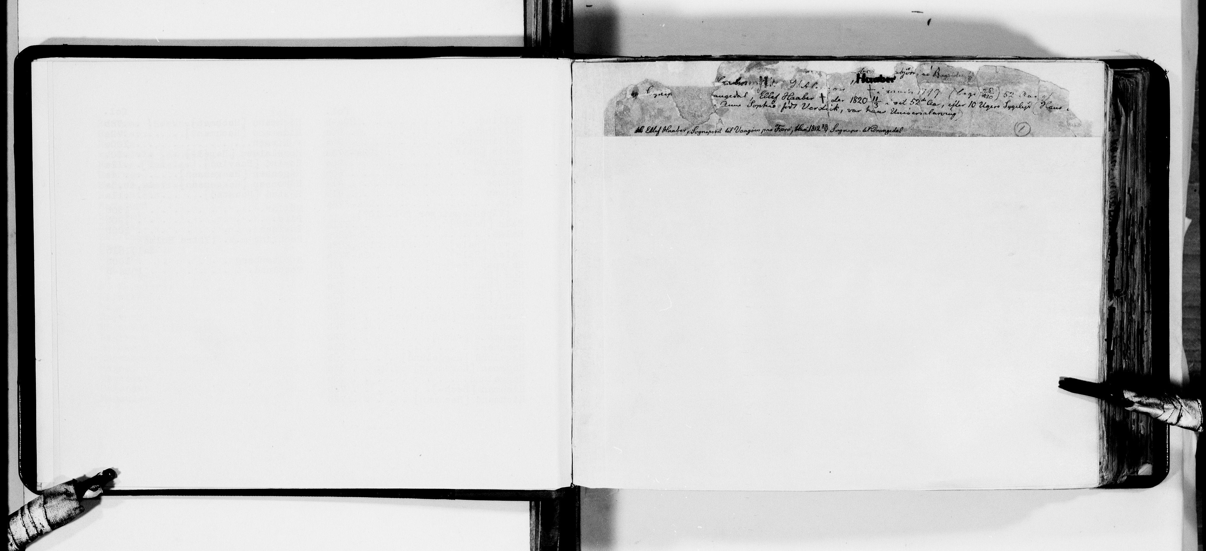 RA, Lassens samlinger, F/Fa, s. 1