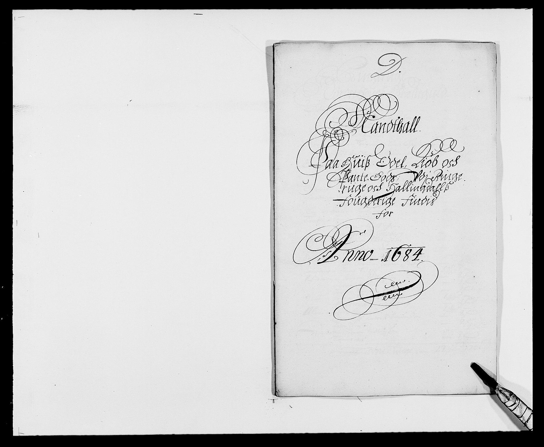 RA, Rentekammeret inntil 1814, Reviderte regnskaper, Fogderegnskap, R21/L1446: Fogderegnskap Ringerike og Hallingdal, 1683-1686, s. 204