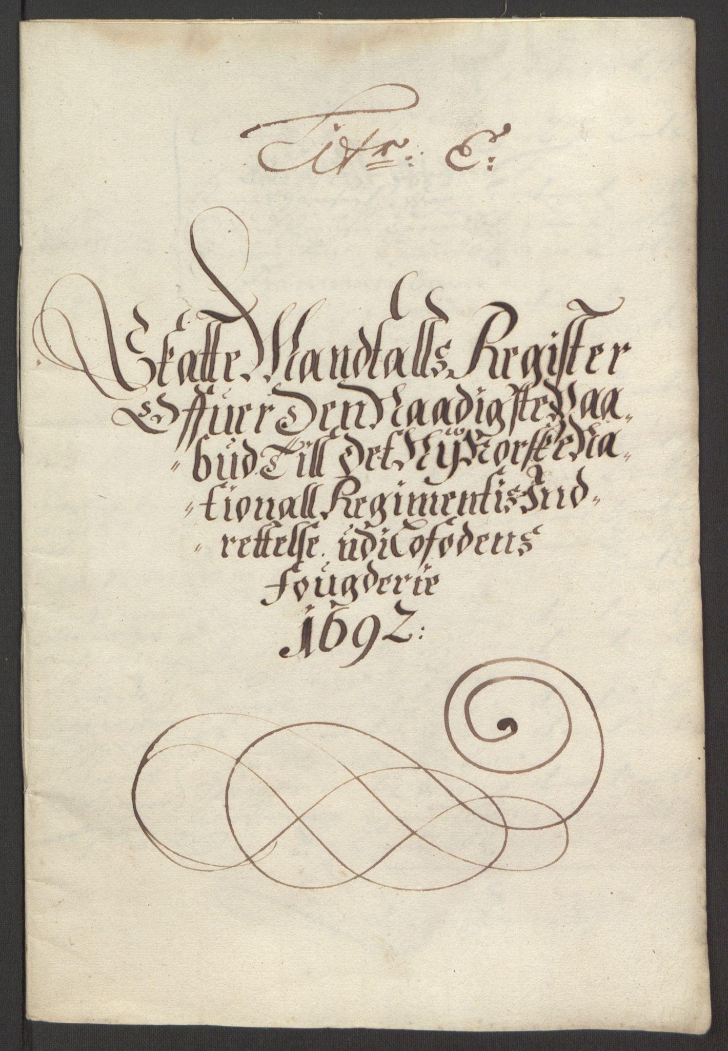 RA, Rentekammeret inntil 1814, Reviderte regnskaper, Fogderegnskap, R67/L4675: Fogderegnskap Vesterålen, Andenes og Lofoten, 1691-1693, s. 150