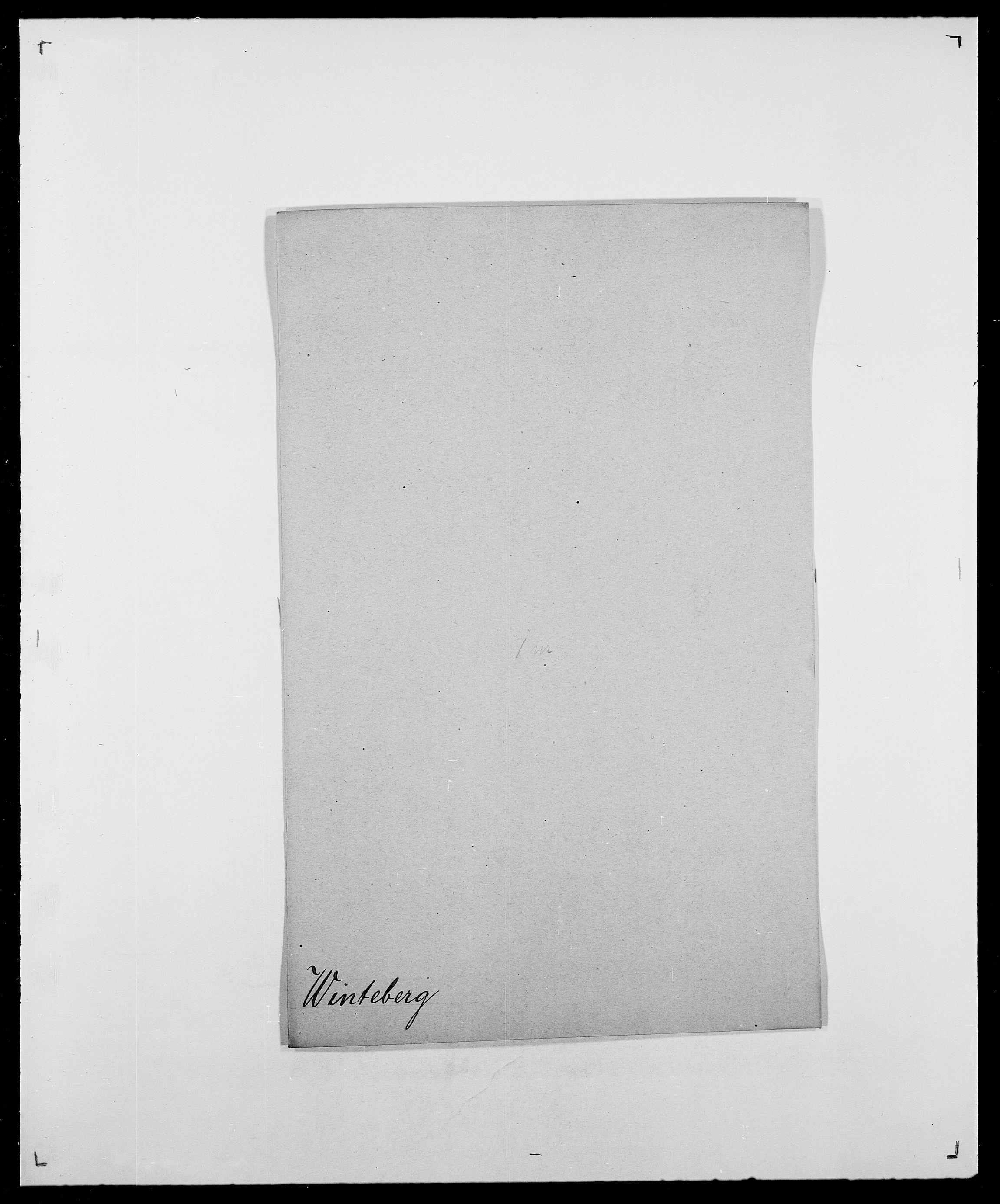 SAO, Delgobe, Charles Antoine - samling, D/Da/L0042: Vilain - Wulf, Wulff, se også Wolf, s. 288
