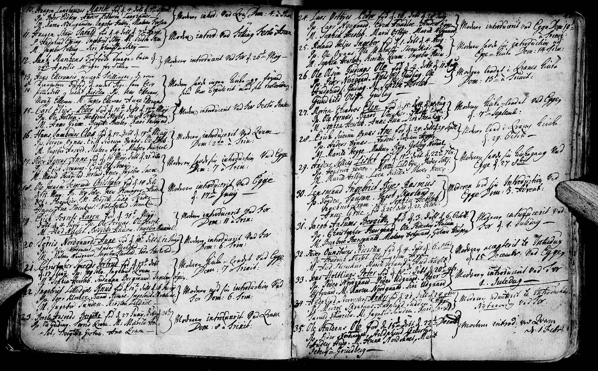 SAT, Ministerialprotokoller, klokkerbøker og fødselsregistre - Nord-Trøndelag, 746/L0439: Ministerialbok nr. 746A01, 1688-1759, s. 43