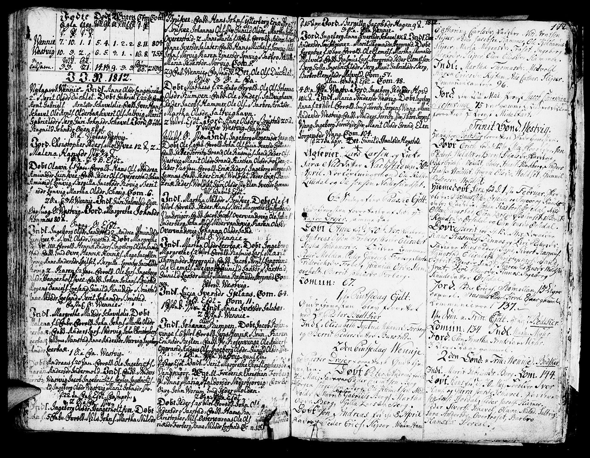 SAT, Ministerialprotokoller, klokkerbøker og fødselsregistre - Nord-Trøndelag, 722/L0216: Ministerialbok nr. 722A03, 1756-1816, s. 172