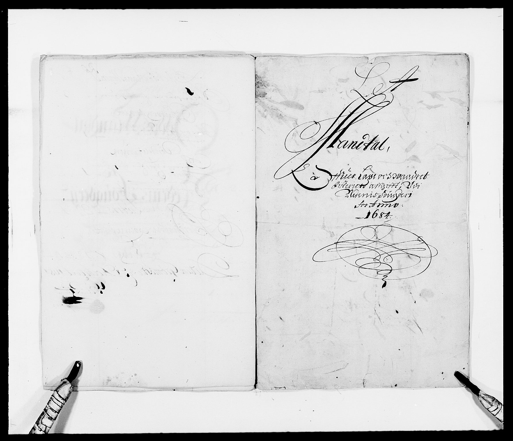 RA, Rentekammeret inntil 1814, Reviderte regnskaper, Fogderegnskap, R39/L2308: Fogderegnskap Nedenes, 1684-1689, s. 4