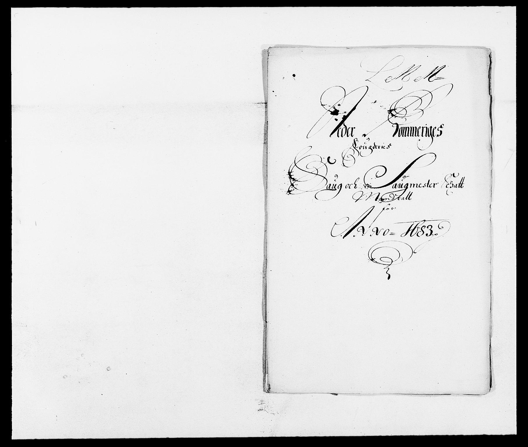 RA, Rentekammeret inntil 1814, Reviderte regnskaper, Fogderegnskap, R11/L0571: Fogderegnskap Nedre Romerike, 1683-1685, s. 75