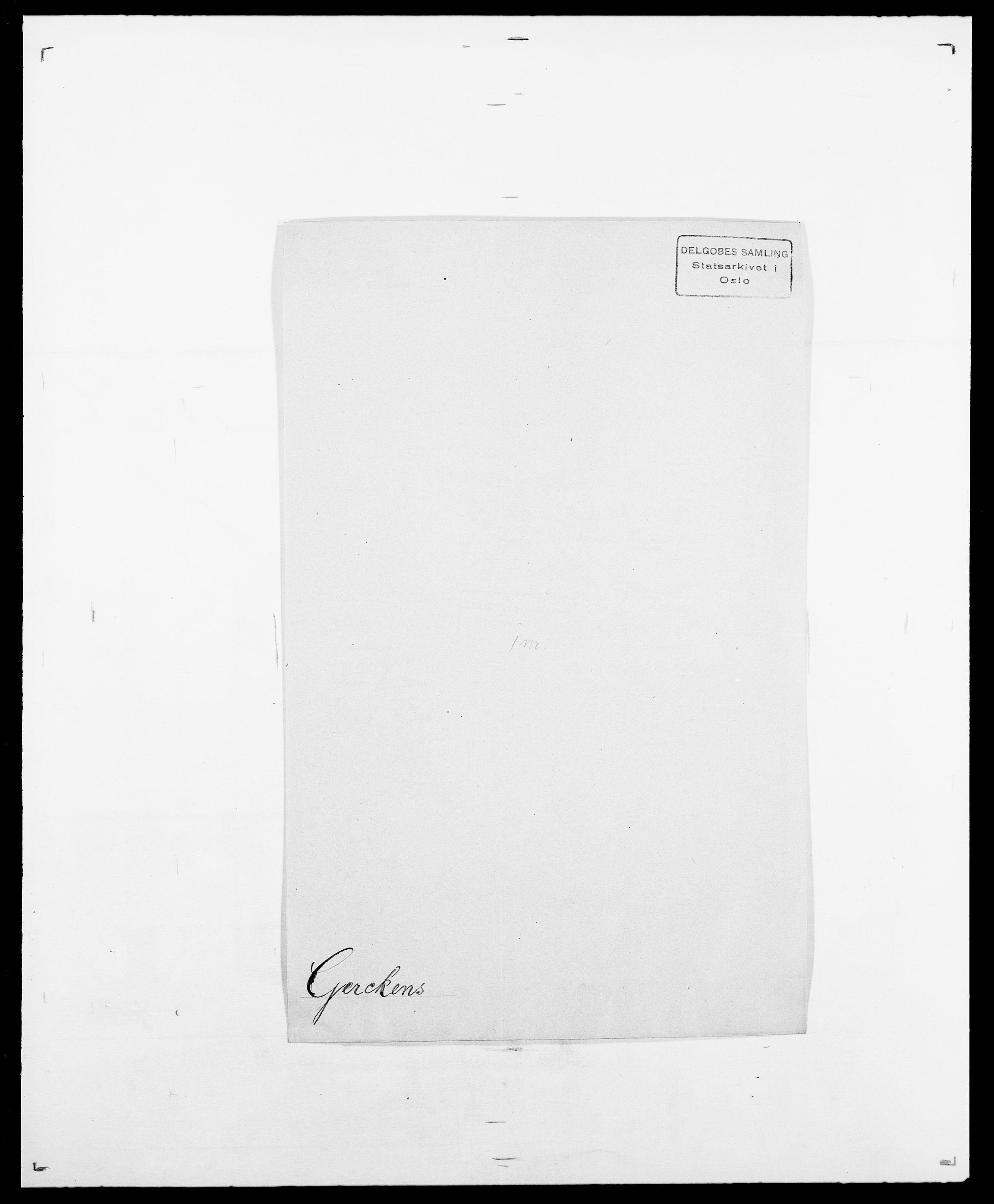 SAO, Delgobe, Charles Antoine - samling, D/Da/L0013: Forbos - Geving, s. 615