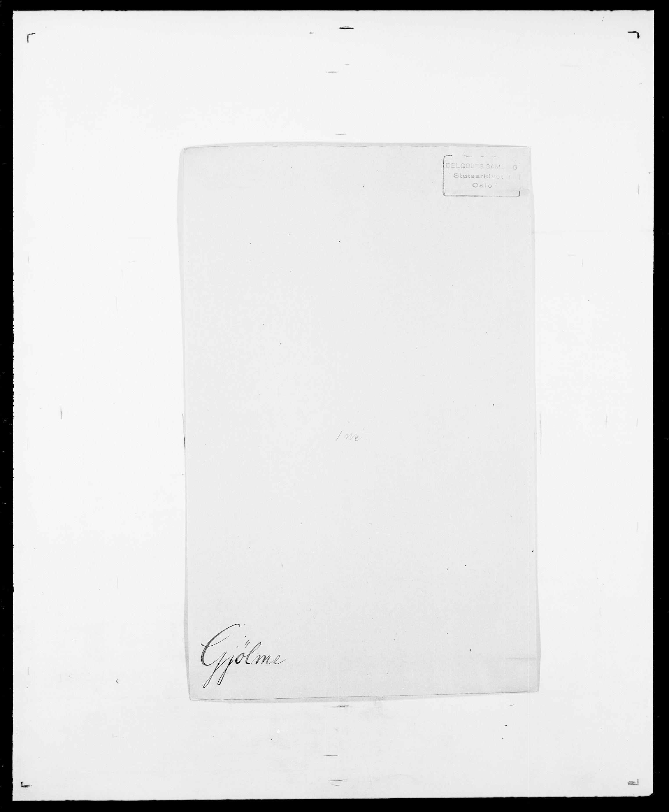 SAO, Delgobe, Charles Antoine - samling, D/Da/L0014: Giebdhausen - Grip, s. 215