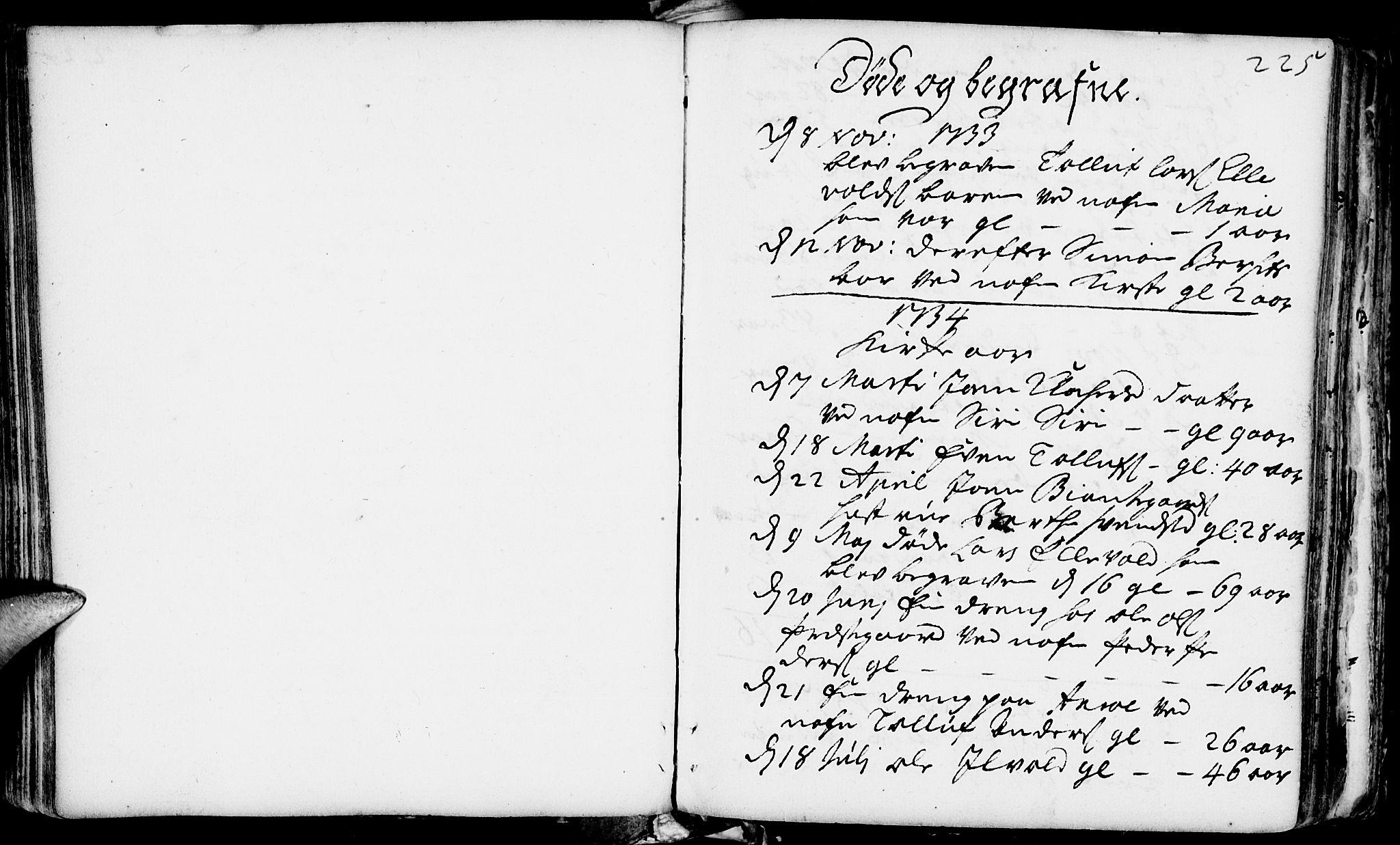SAH, Rendalen prestekontor, H/Ha/Haa/L0001: Ministerialbok nr. 1, 1733-1787, s. 225