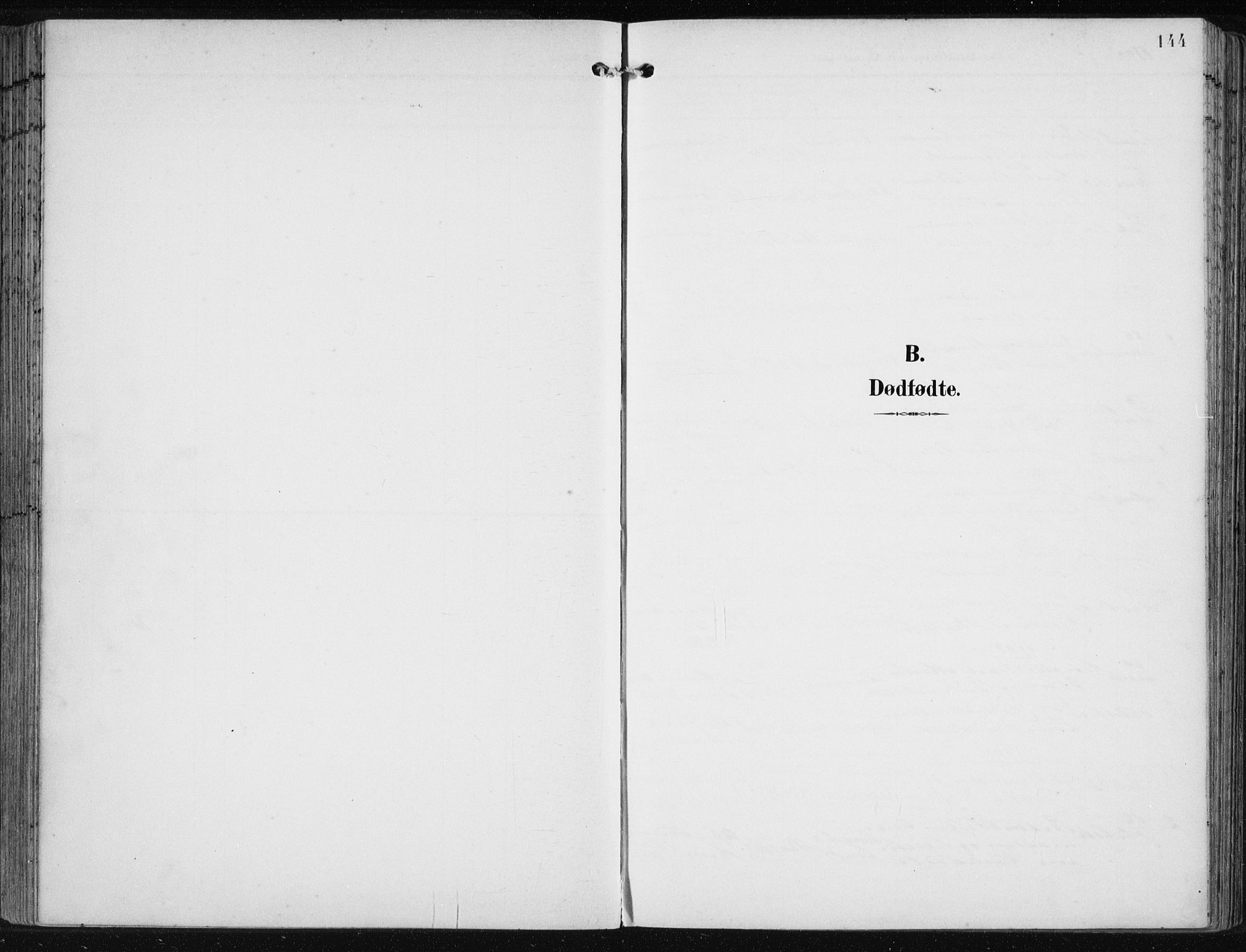 SAB, Fjell Sokneprestembete, H/Haa: Ministerialbok nr. A  9, 1899-1910, s. 144