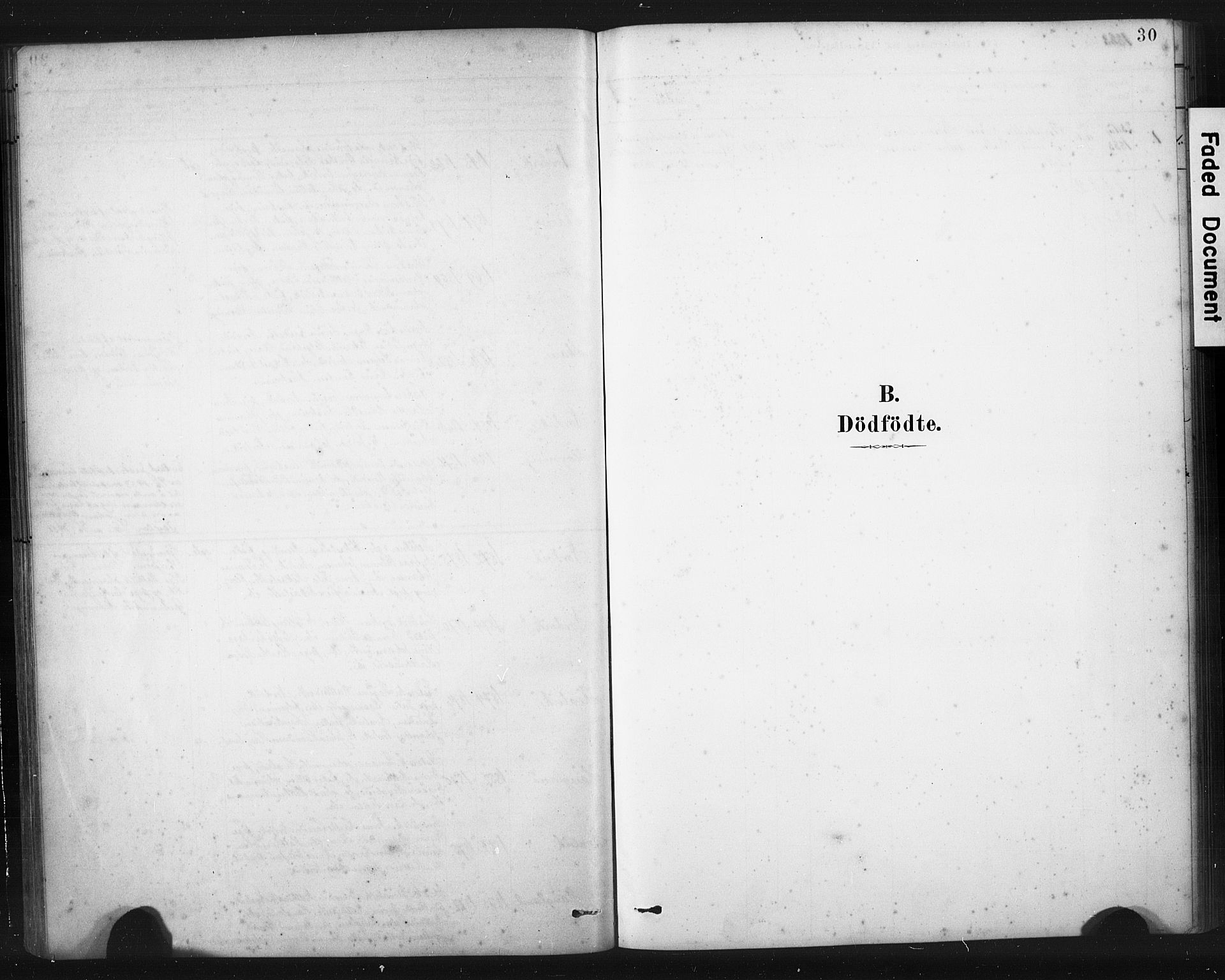 SAST, Torvastad sokneprestkontor, H/Ha/Haa/L0016: Ministerialbok nr. A 15, 1883-1903, s. 30