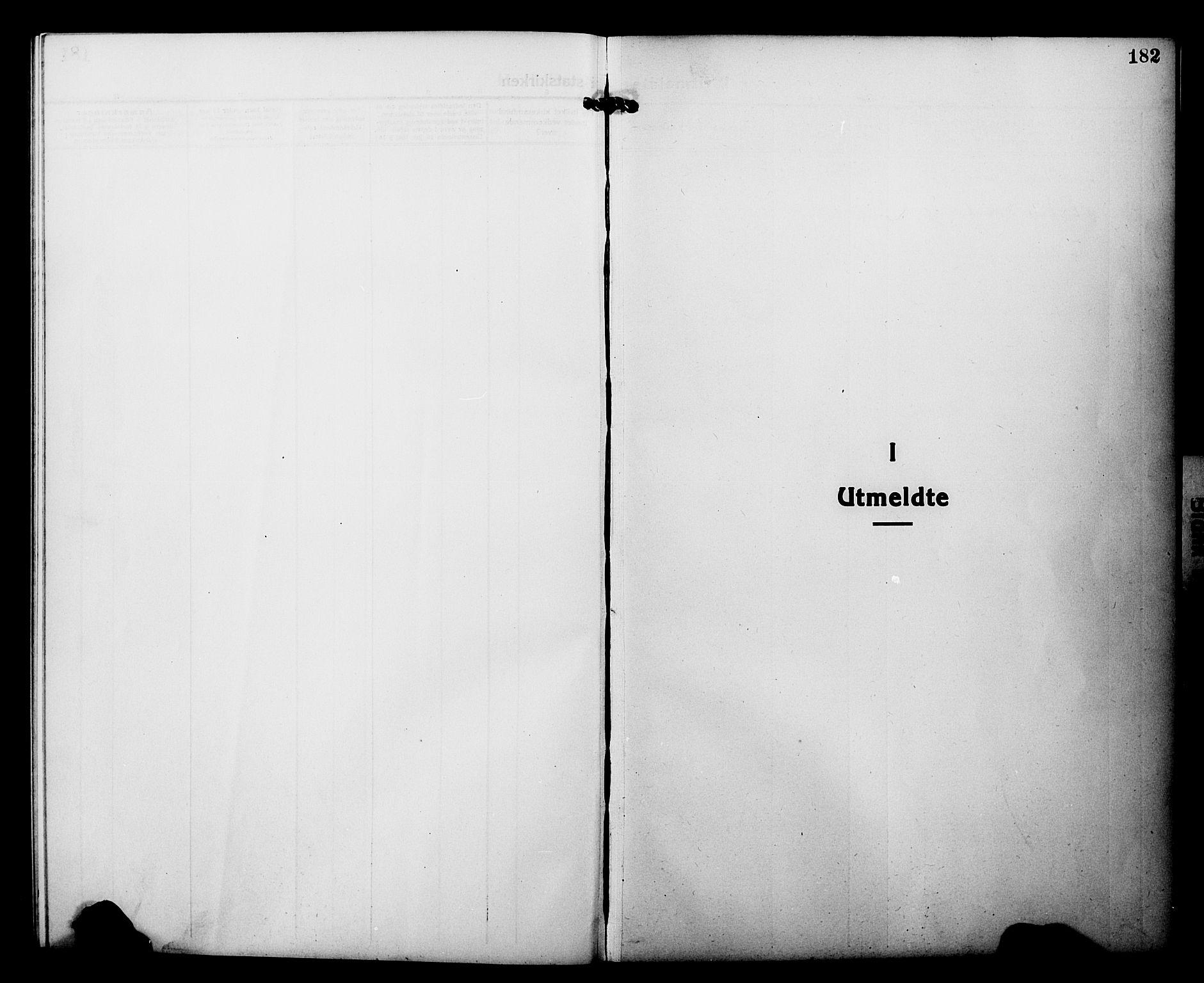 SATØ, Tranøy sokneprestkontor, I/Ia/Iab/L0015klokker: Klokkerbok nr. 15, 1918-1930, s. 182