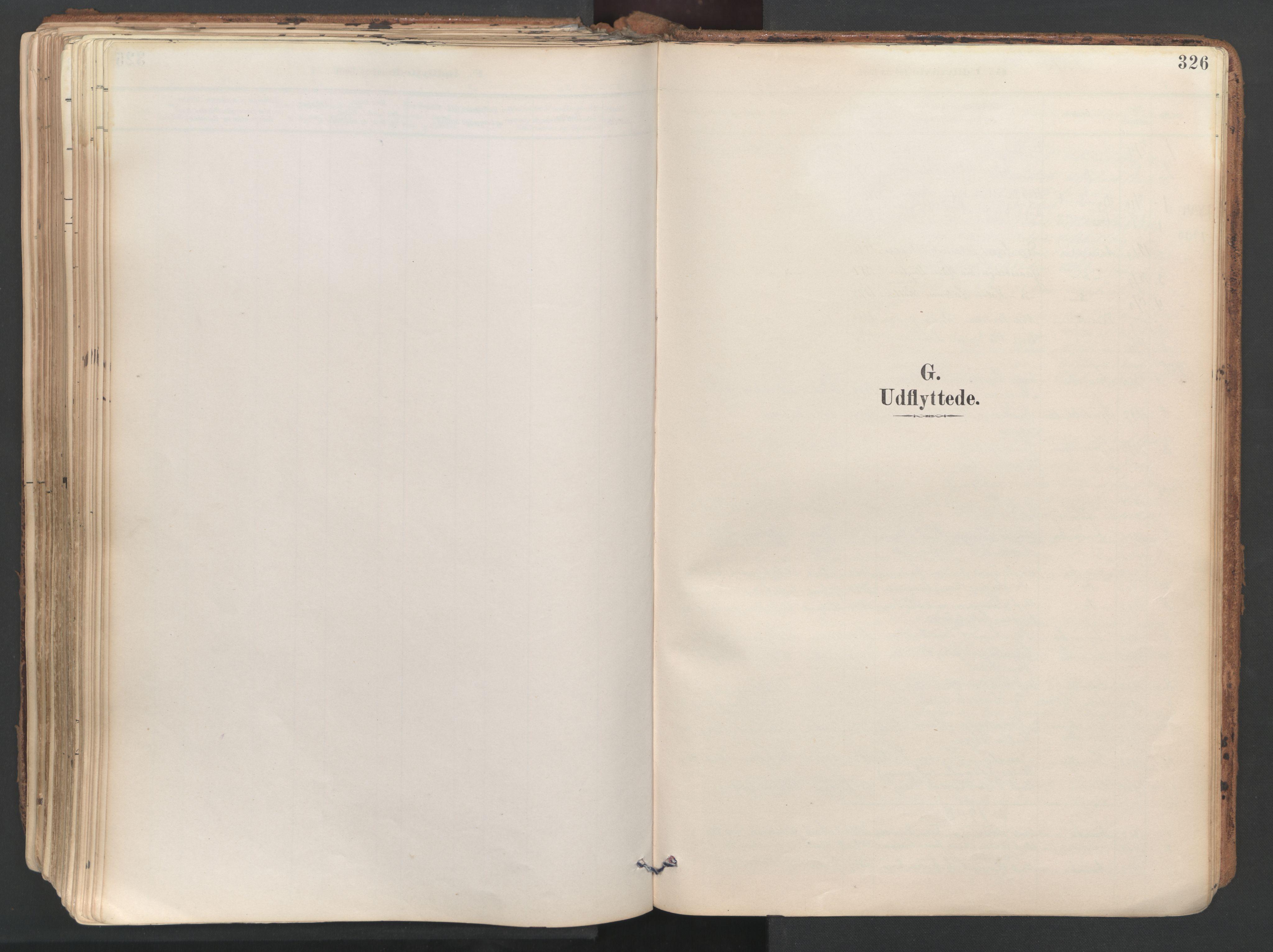 SAT, Ministerialprotokoller, klokkerbøker og fødselsregistre - Sør-Trøndelag, 687/L1004: Ministerialbok nr. 687A10, 1891-1923, s. 326