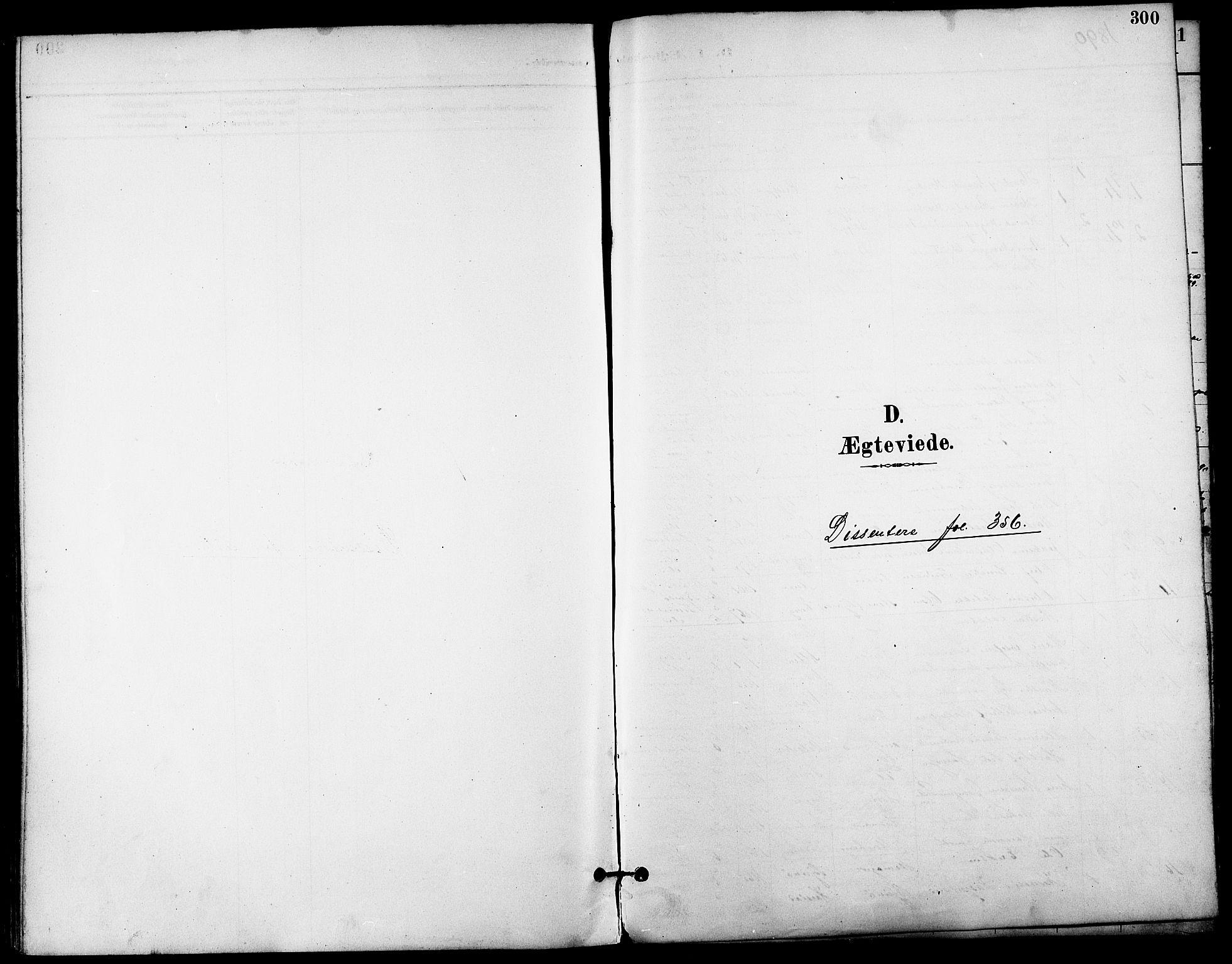 SATØ, Trondenes sokneprestkontor, H/Ha/L0016kirke: Ministerialbok nr. 16, 1890-1898, s. 300