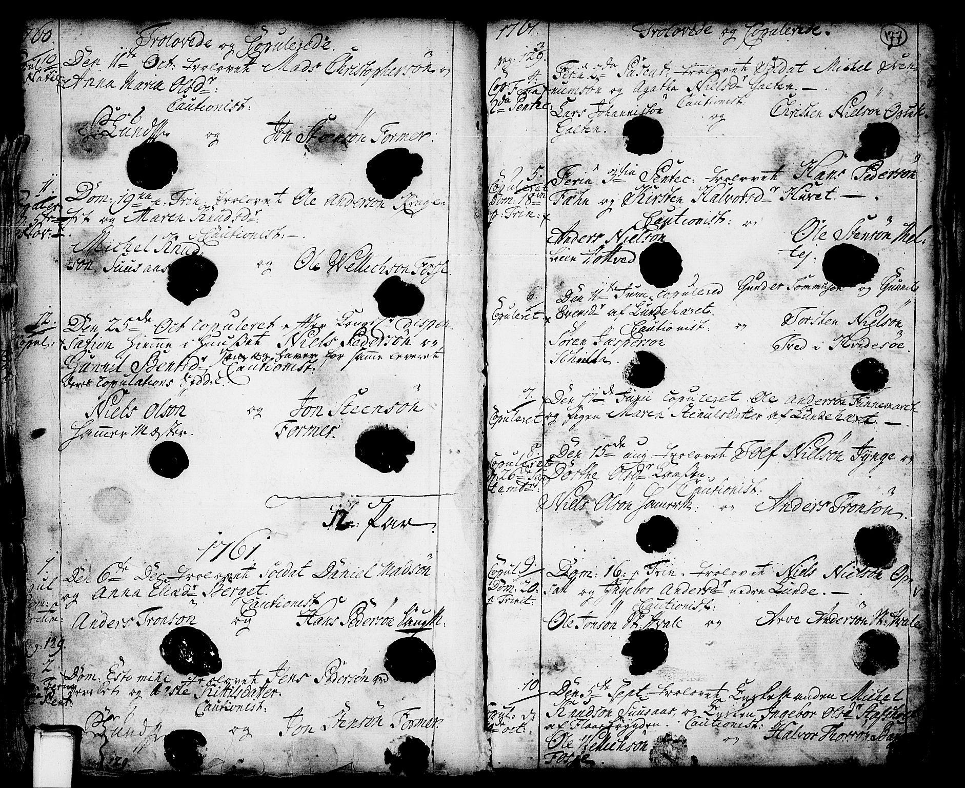 SAKO, Holla kirkebøker, F/Fa/L0001: Ministerialbok nr. 1, 1717-1779, s. 177