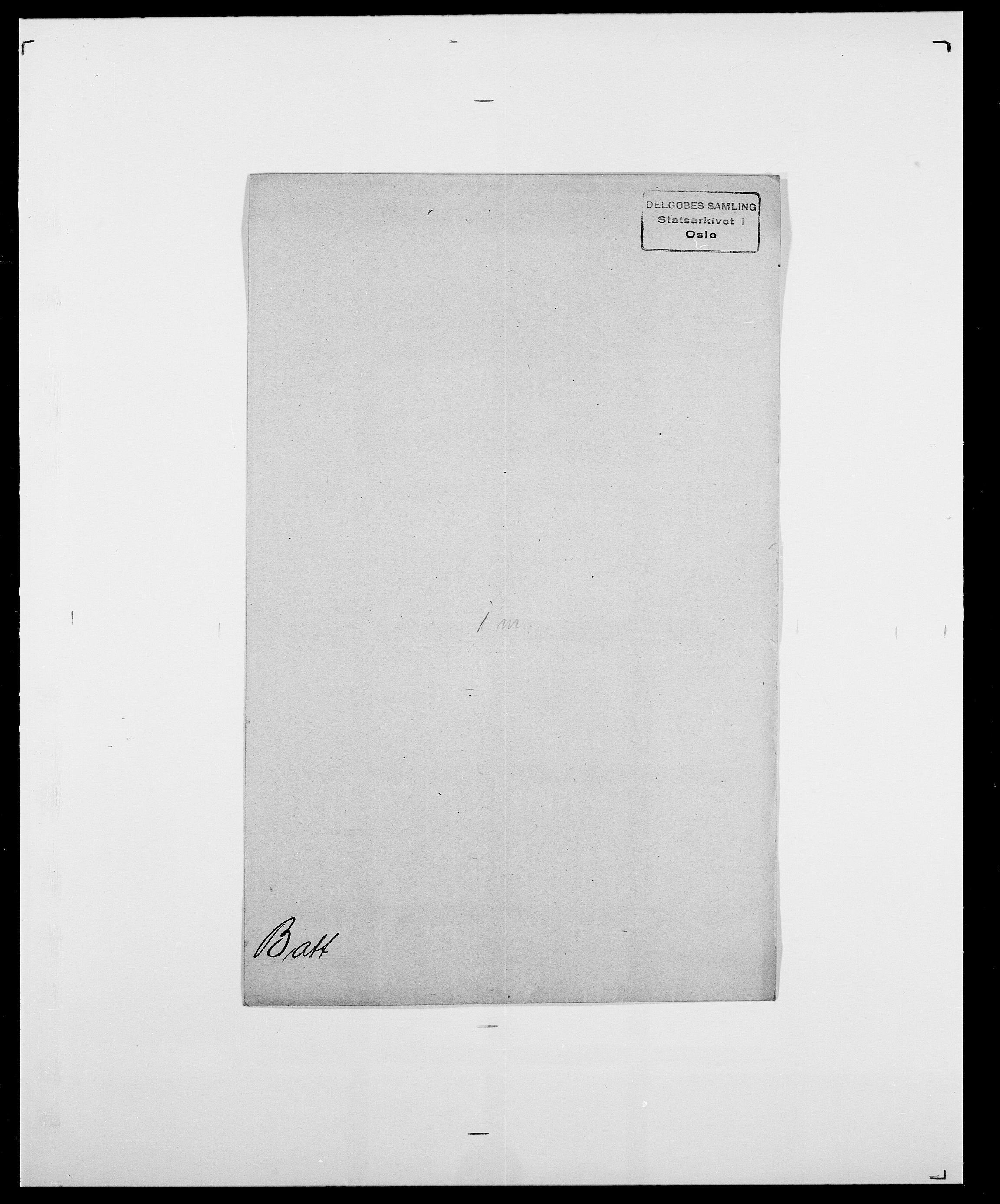 SAO, Delgobe, Charles Antoine - samling, D/Da/L0003: Barca - Bergen, s. 431
