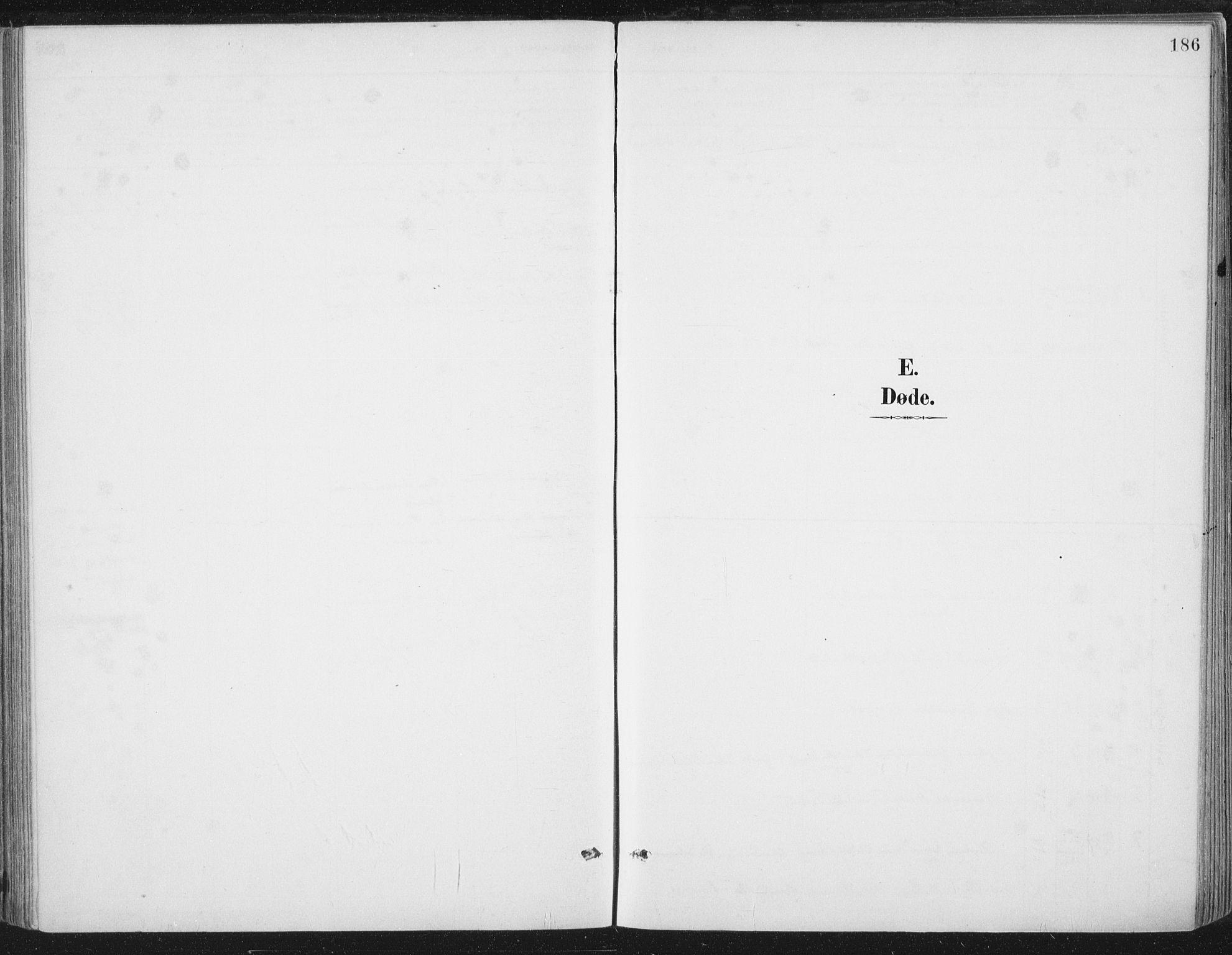 SAT, Ministerialprotokoller, klokkerbøker og fødselsregistre - Nord-Trøndelag, 784/L0673: Ministerialbok nr. 784A08, 1888-1899, s. 186