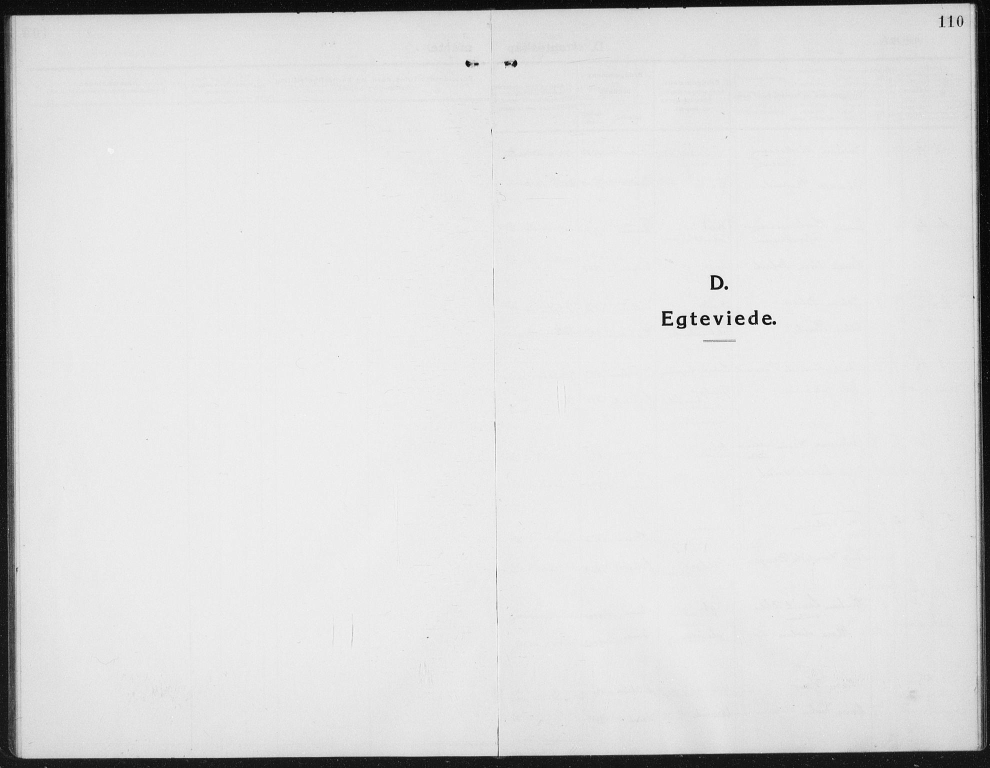 SAH, Kolbu prestekontor, Klokkerbok nr. 6, 1916-1934, s. 110