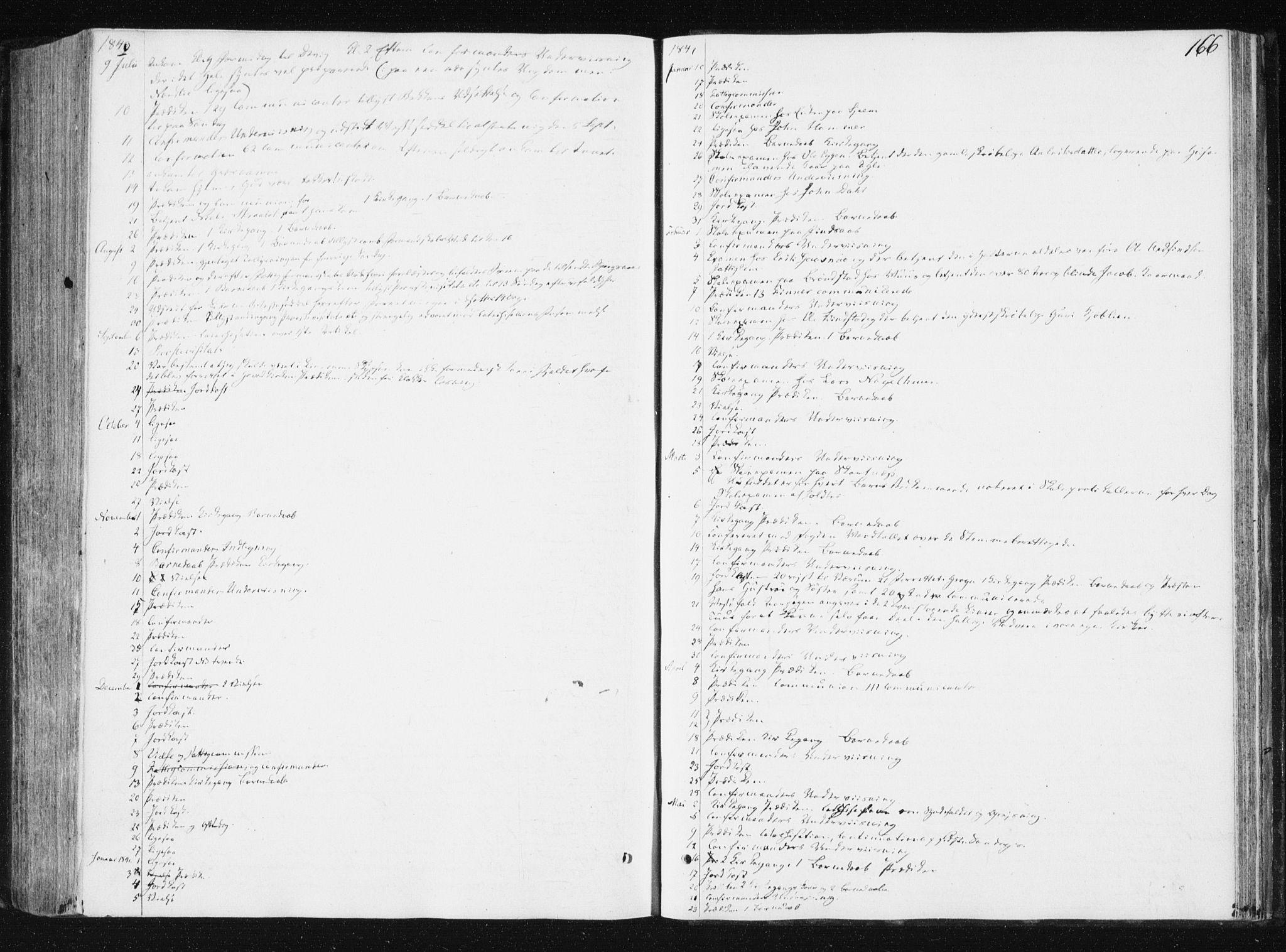 SAT, Ministerialprotokoller, klokkerbøker og fødselsregistre - Nord-Trøndelag, 749/L0470: Ministerialbok nr. 749A04, 1834-1853, s. 166