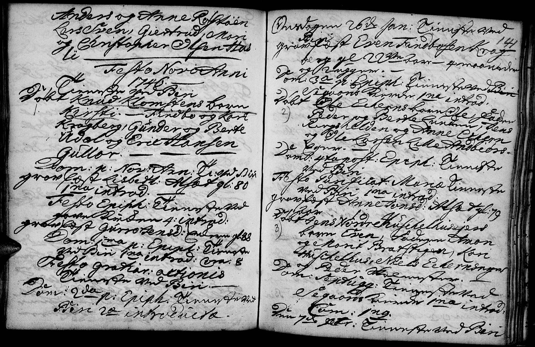 SAH, Biri prestekontor, Ministerialbok nr. 1, 1730-1754, s. 141