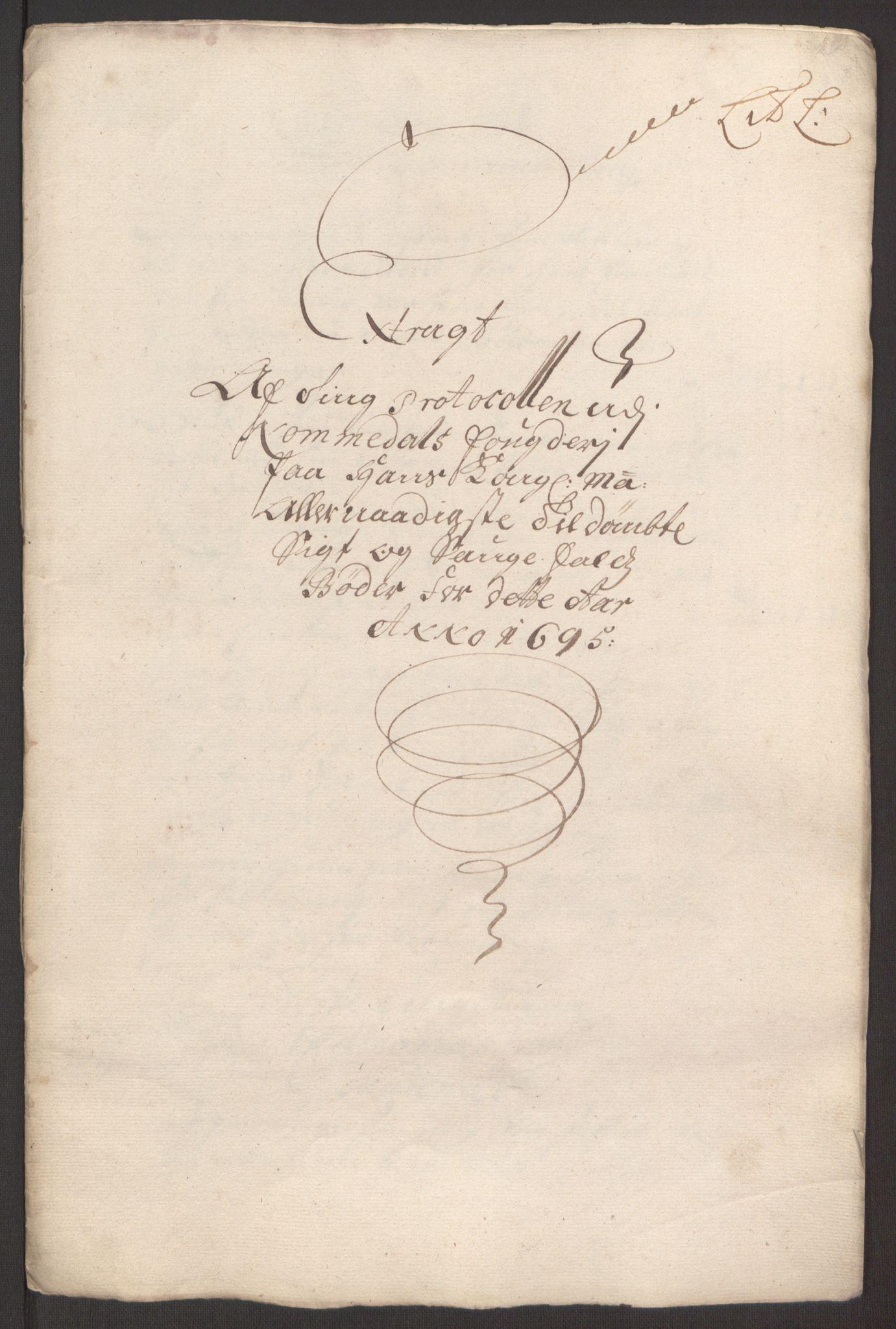 RA, Rentekammeret inntil 1814, Reviderte regnskaper, Fogderegnskap, R64/L4424: Fogderegnskap Namdal, 1692-1695, s. 507