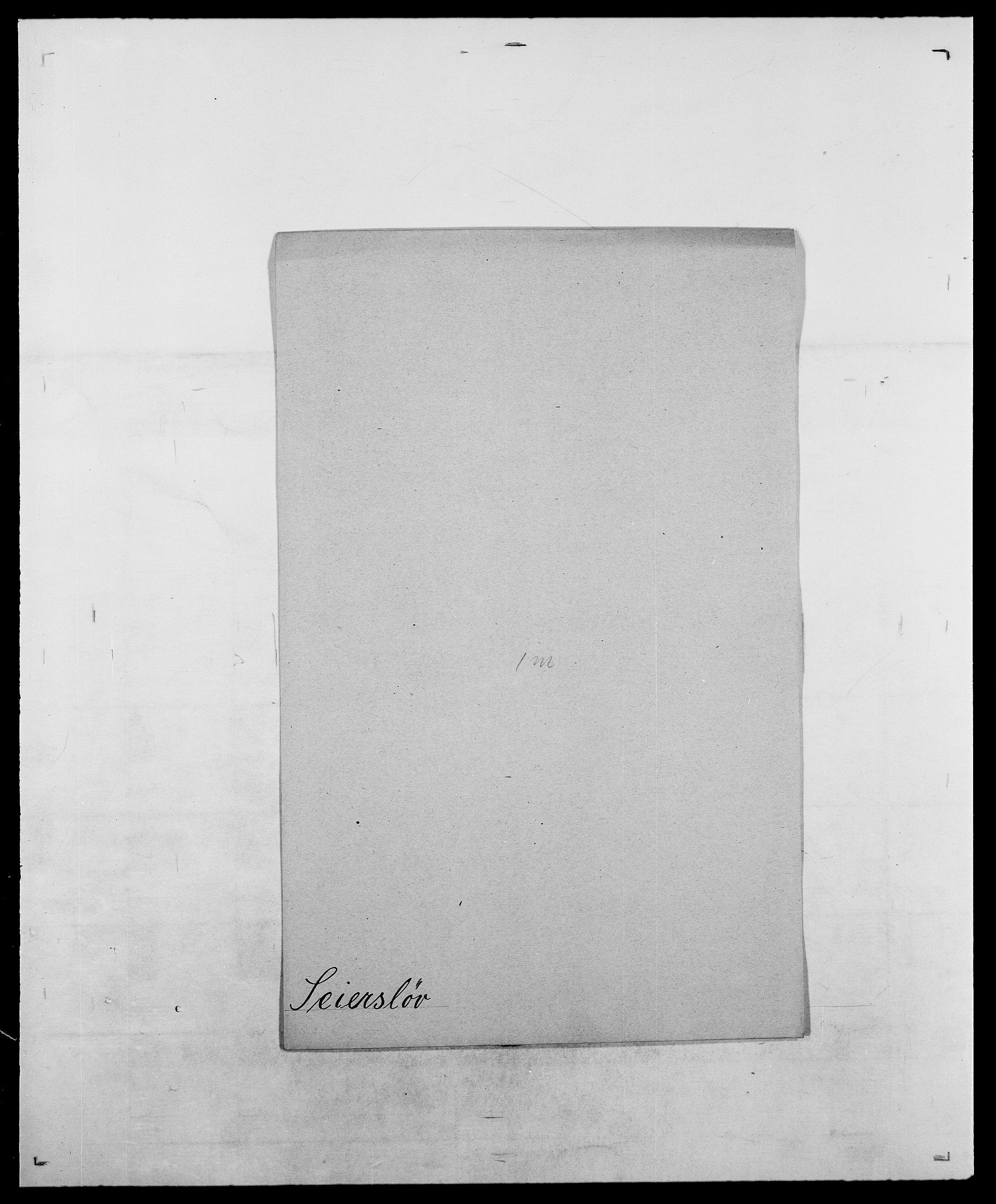 SAO, Delgobe, Charles Antoine - samling, D/Da/L0035: Schnabel - sjetman, s. 602