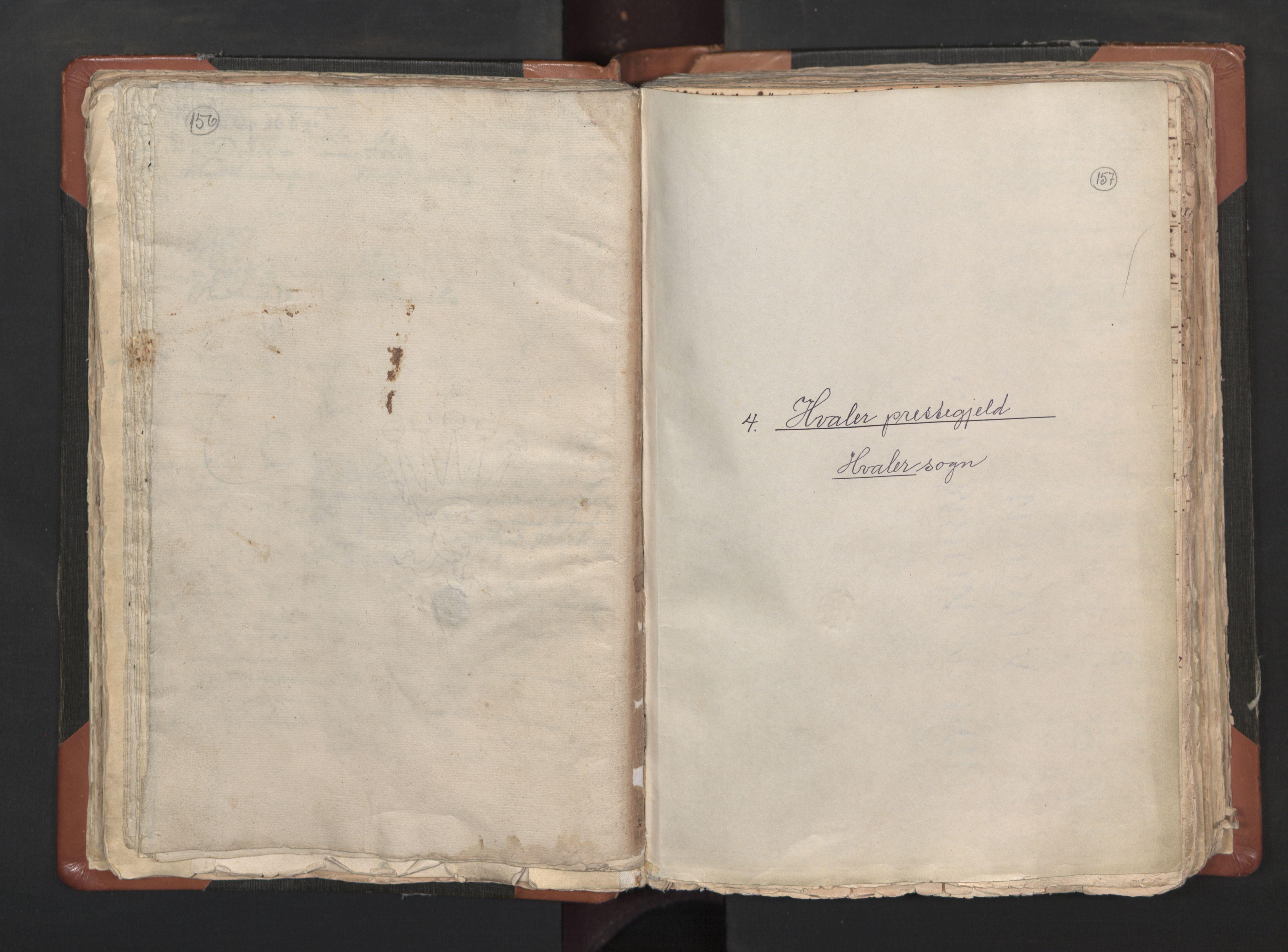 RA, Sogneprestenes manntall 1664-1666, nr. 1: Nedre Borgesyssel prosti, 1664-1666, s. 156-157