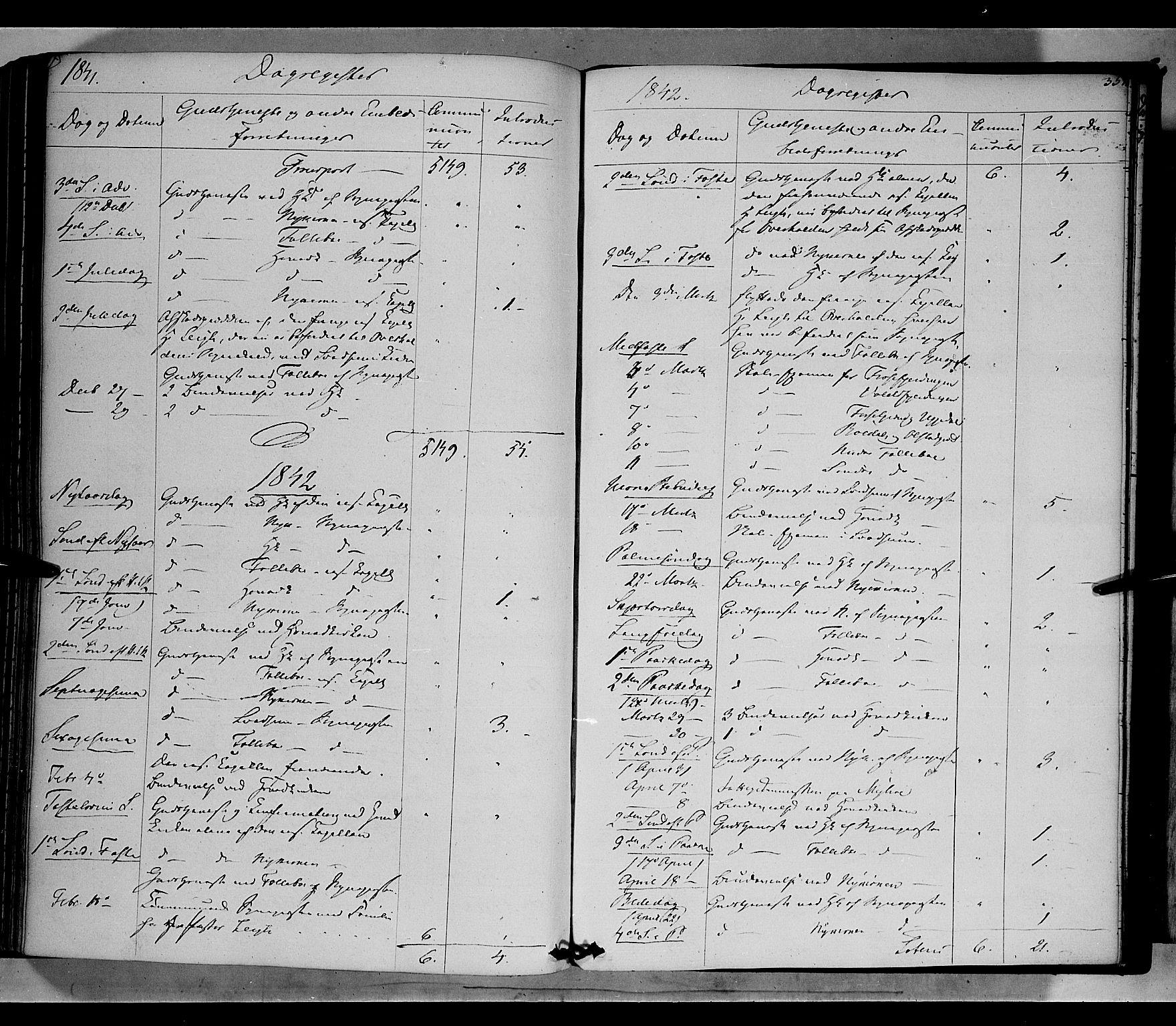 SAH, Gausdal prestekontor, Ministerialbok nr. 7, 1840-1850, s. 357