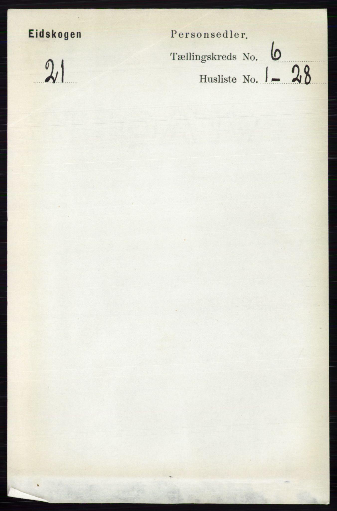 RA, Folketelling 1891 for 0420 Eidskog herred, 1891, s. 2849
