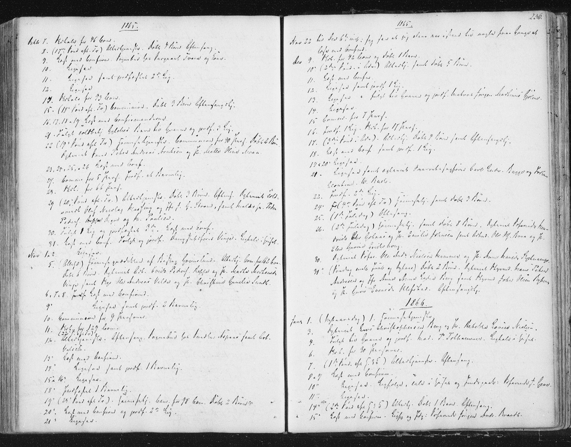 SAT, Ministerialprotokoller, klokkerbøker og fødselsregistre - Sør-Trøndelag, 602/L0127: Residerende kapellans bok nr. 602B01, 1821-1875, s. 236