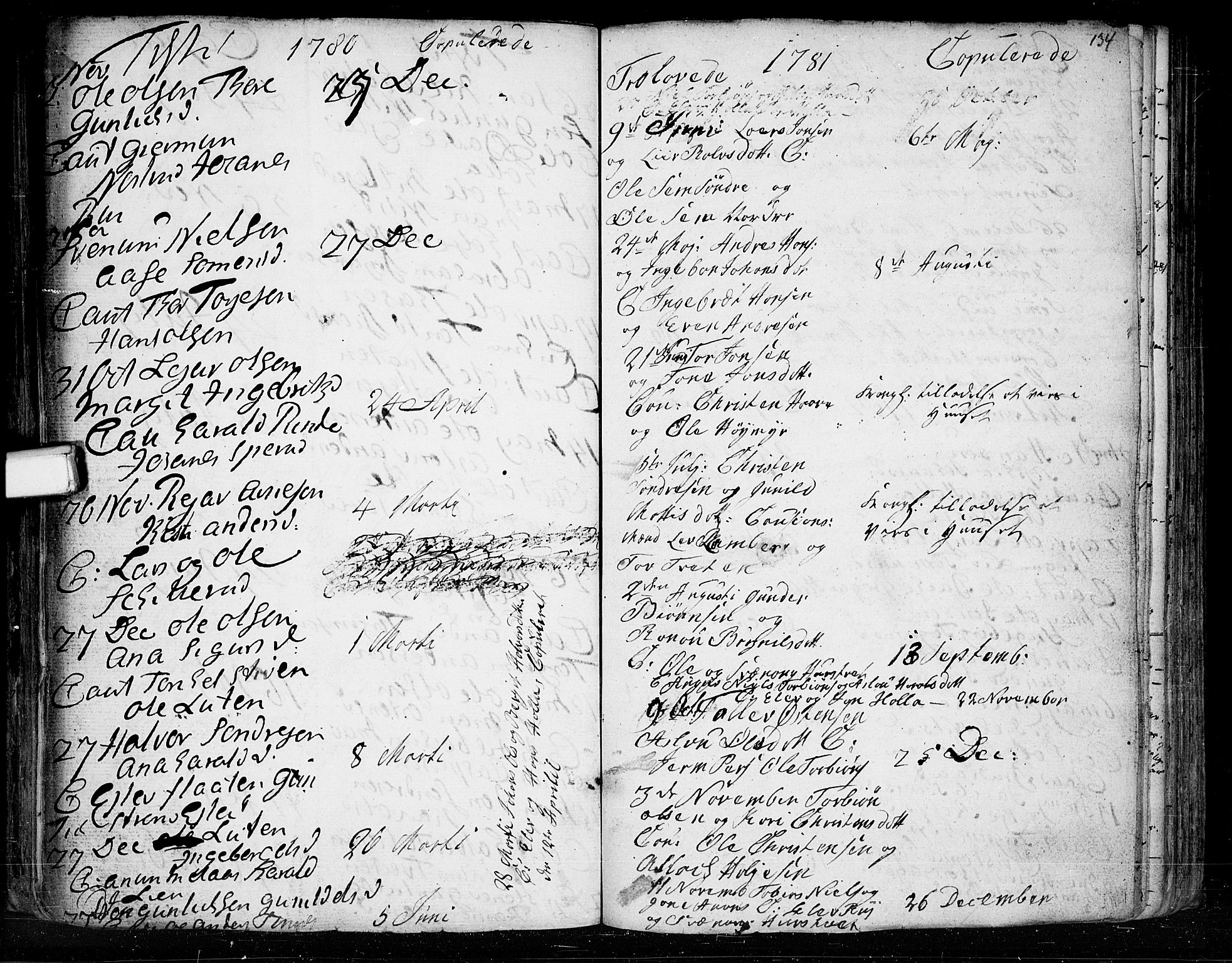 SAKO, Heddal kirkebøker, F/Fa/L0003: Ministerialbok nr. I 3, 1723-1783, s. 134