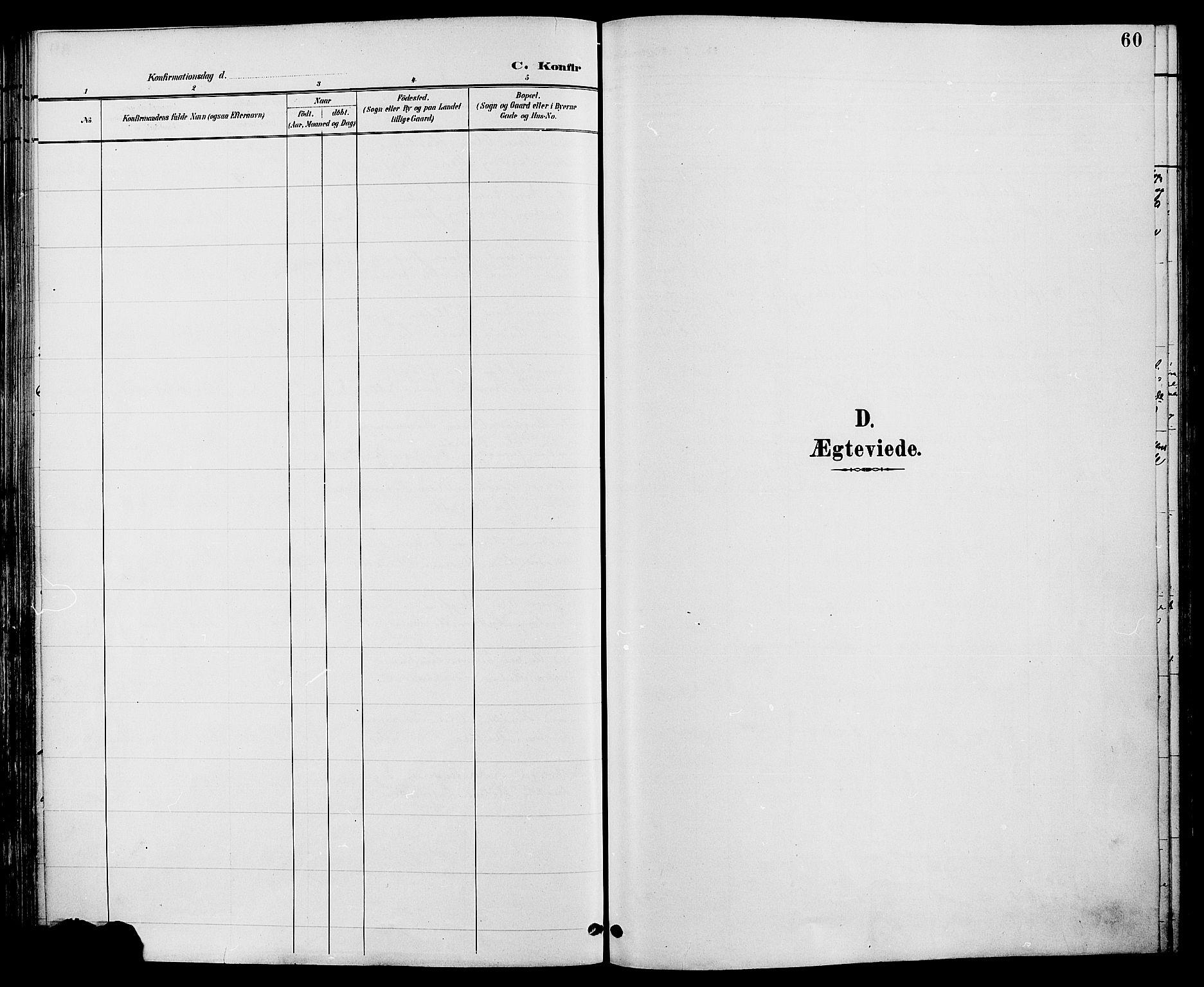SAH, Biri prestekontor, Ministerialbok nr. 7, 1887-1893, s. 60